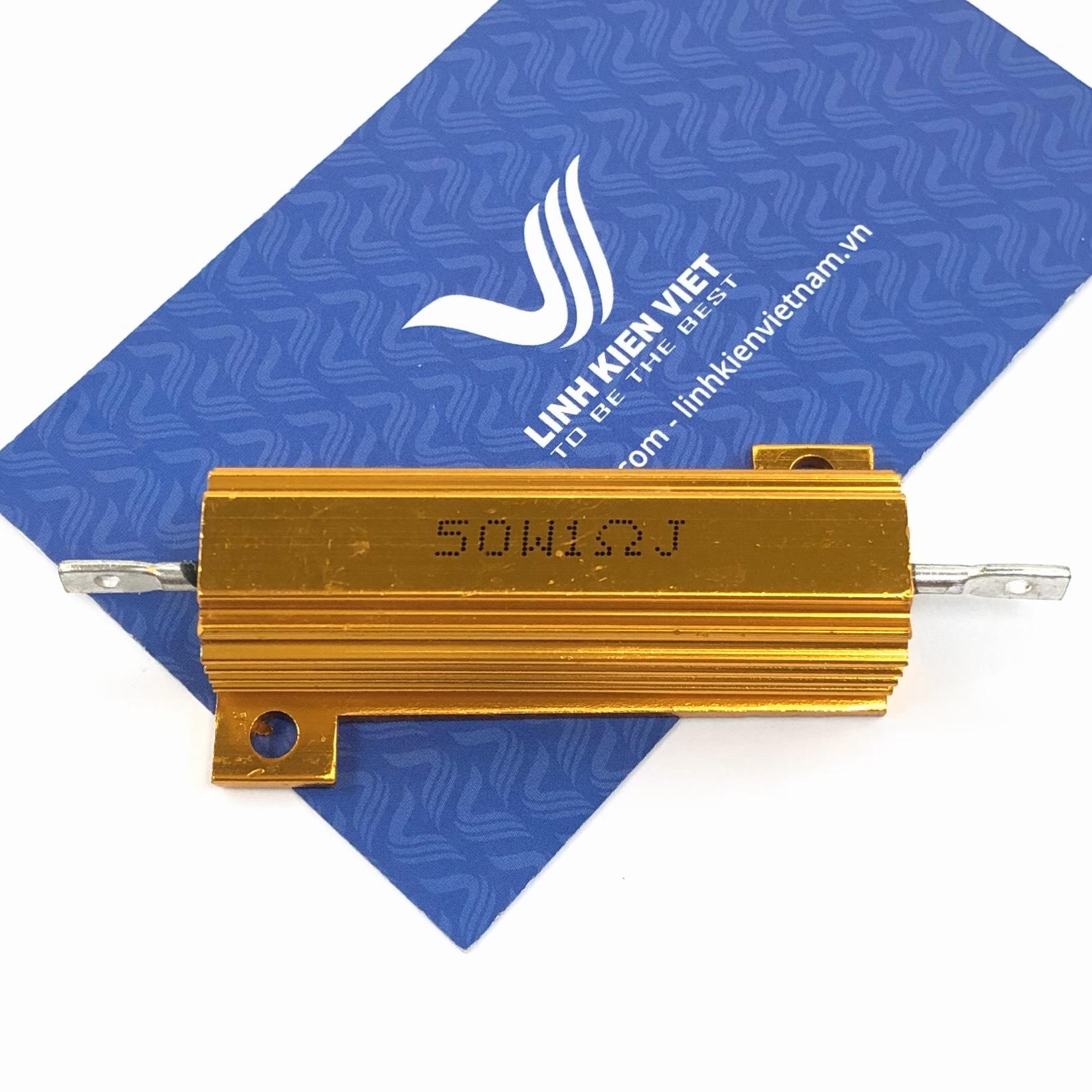 Điện trở nhôm RX24 1R 50W - S5H24