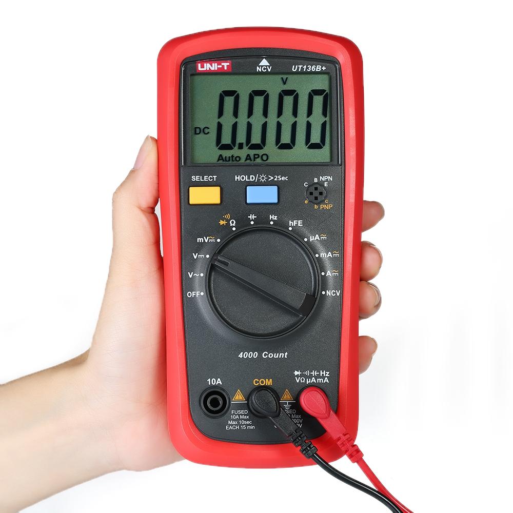 Đồng hồ vạn năng Uni-T UT136B+ dải tự động