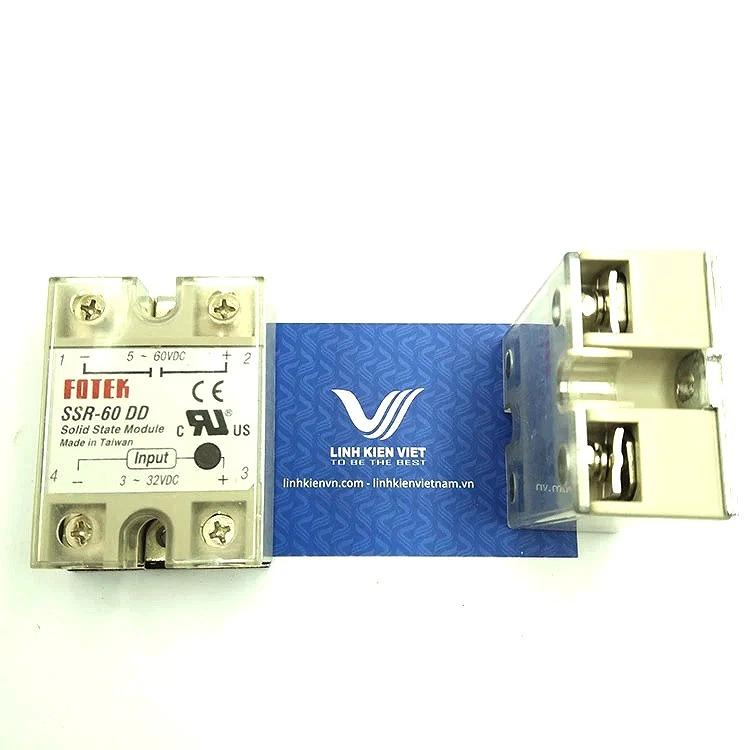 Relay bán dẫn SSR-60DD SSR60DD 60A I7H13