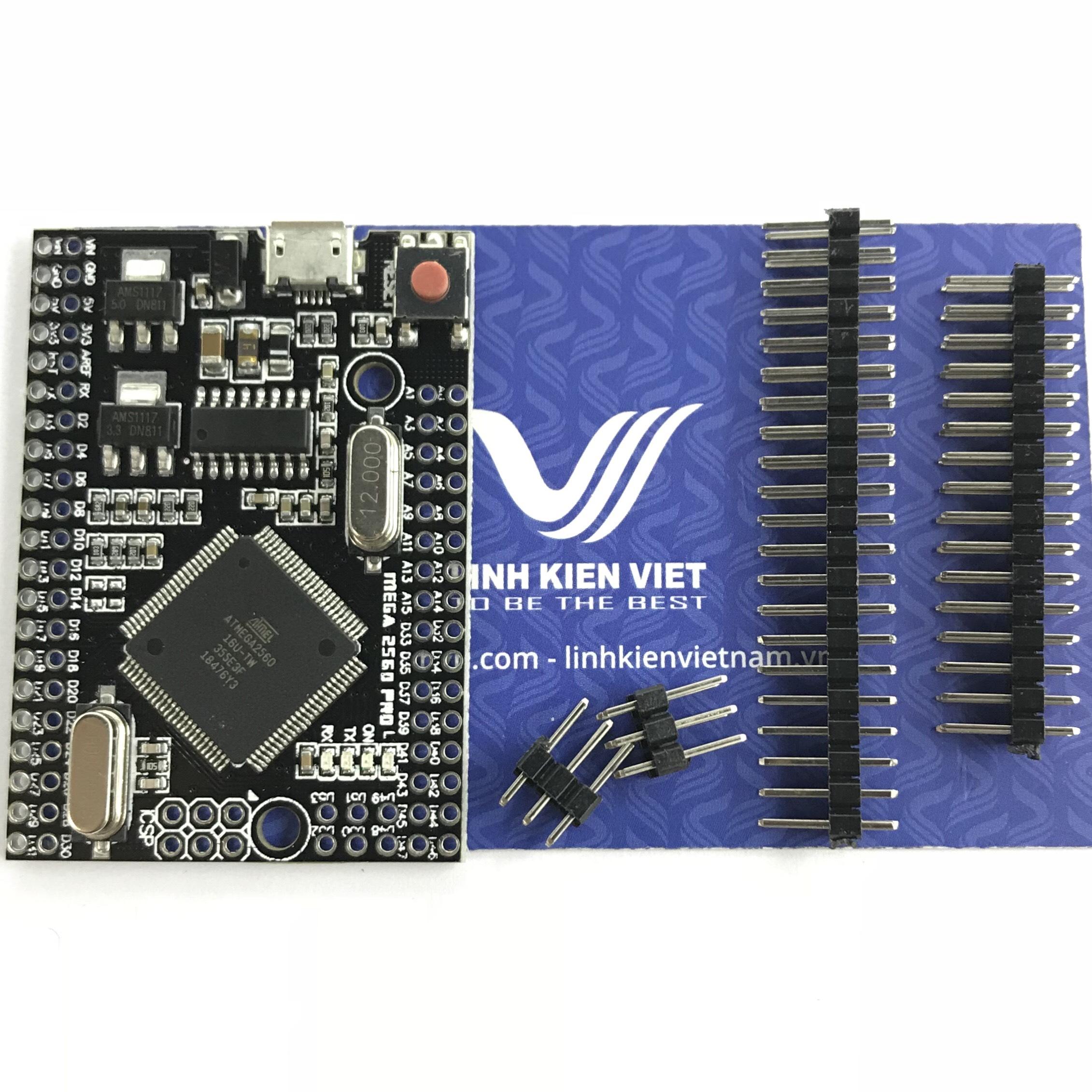 Kit Arduino Mega2560 Pro ATmega2560-16AU Micro CH340G HS - X1H18