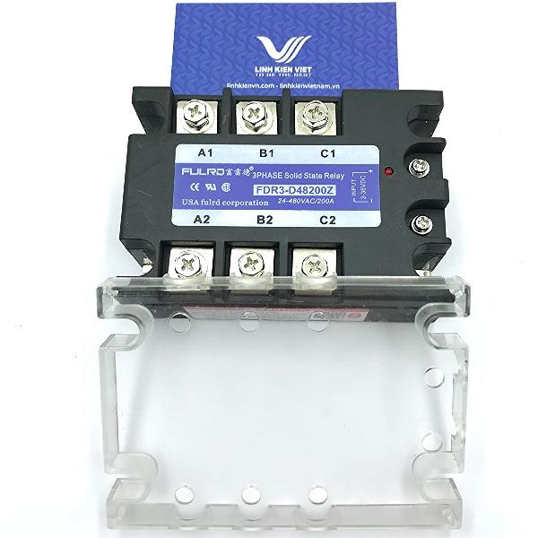 Relay bán dẫn 3 pha SSR 200A FDR3-D48200Z
