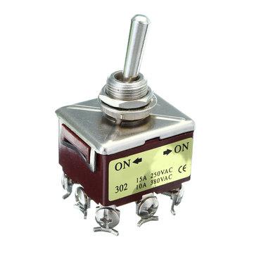 Công tắc ZENGTAI E-TEN302 10A 380V - 2 trạng thái 3 cặp tiếp điểm - D8H25