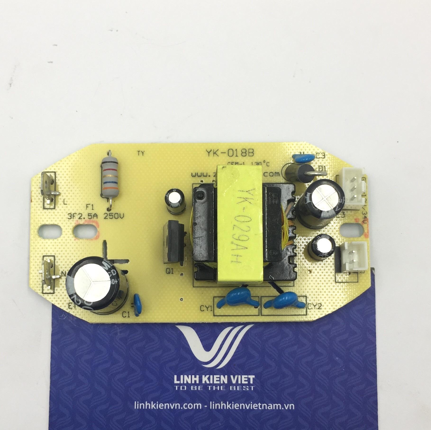 Nguồn cho module phun sương 38V / Nguồn cho mạch phun sương / Nguồn quạt phun sương- G2H17
