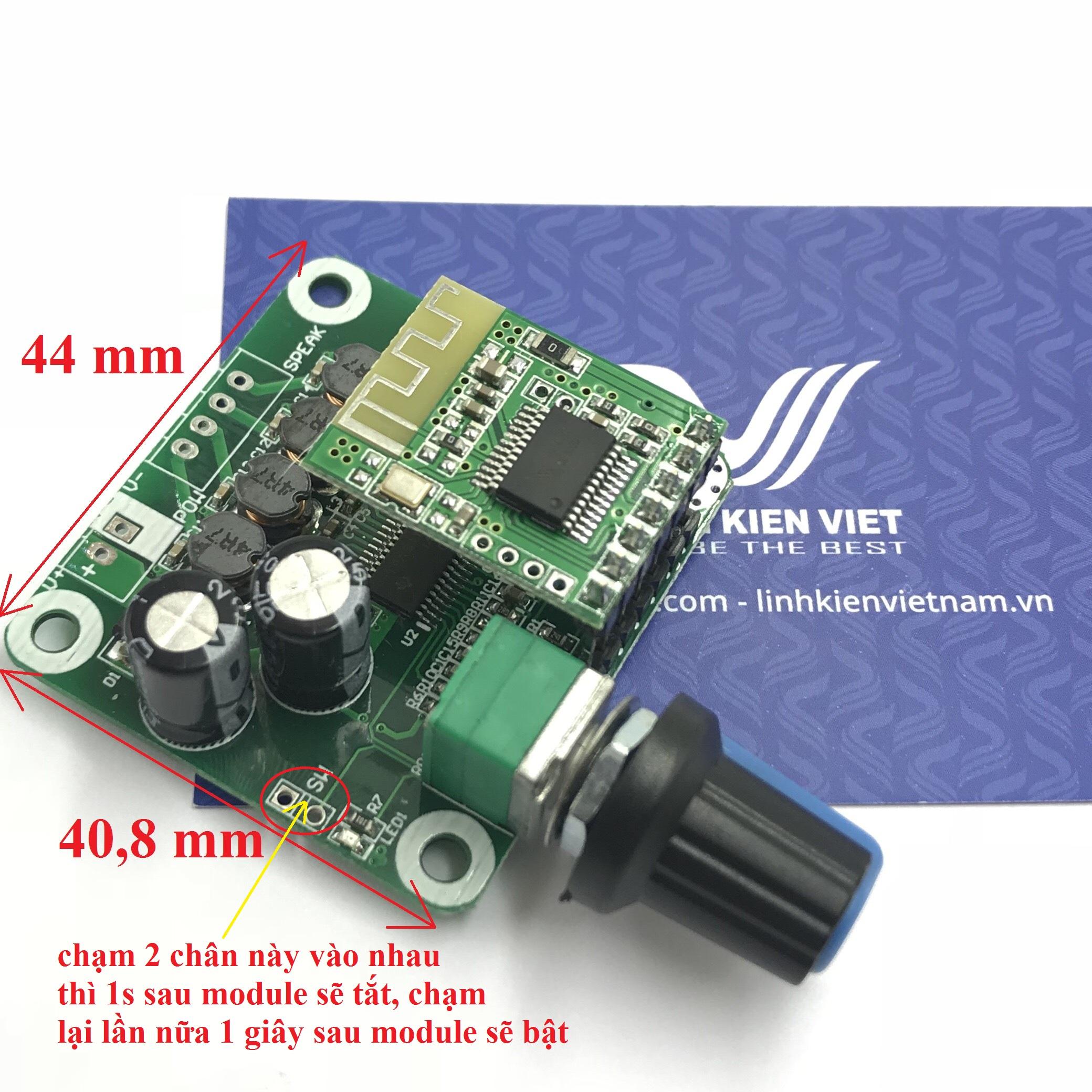Module khuếch đại âm thanh 15W x2 TPA3110 bluetooth 4.2 - G3H11