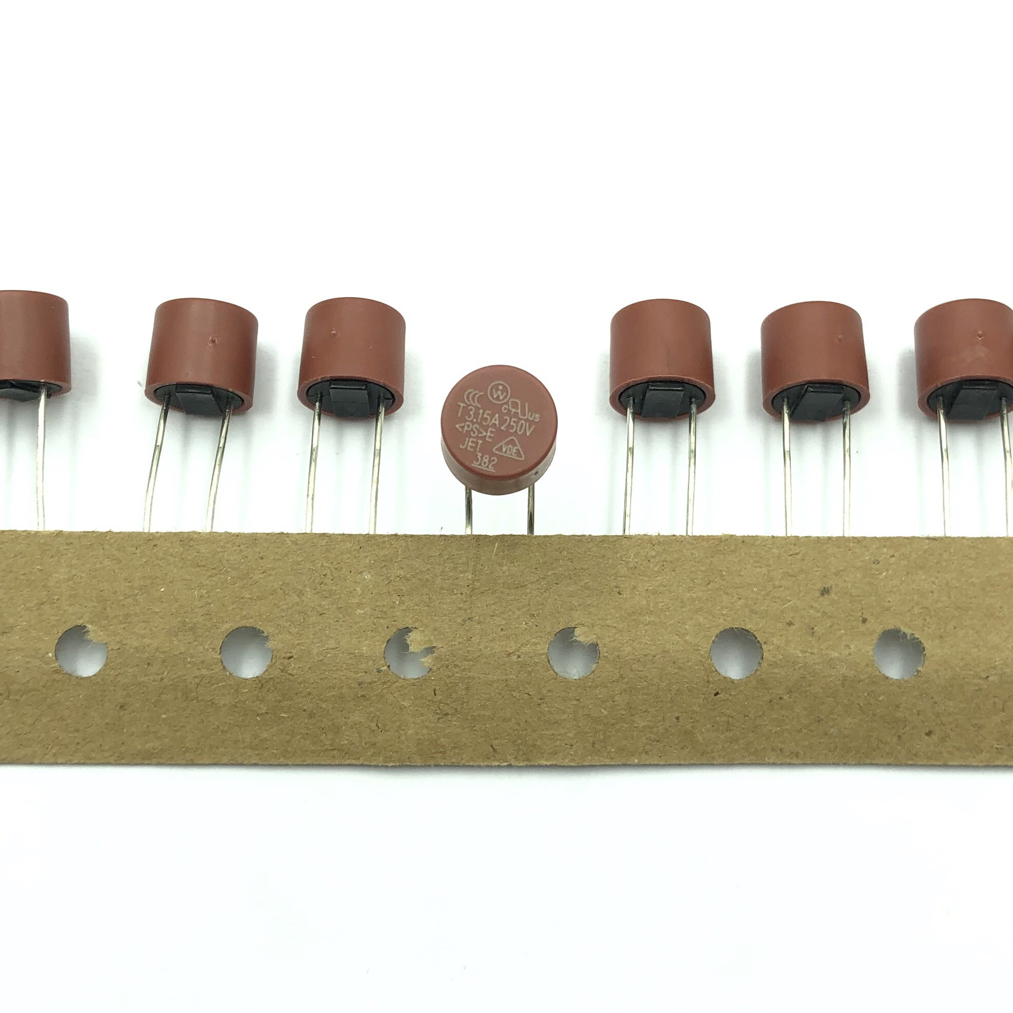 Cầu chì trụ tròn 8x8 3.15A 250V T3.15A - I8H24