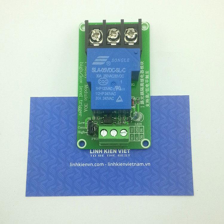 Module relay 1 kênh 5VDC - 30A - I7H5