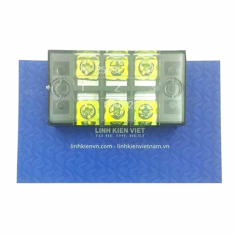 Cầu Đấu 3 TB-2503 600V 25A i8H6