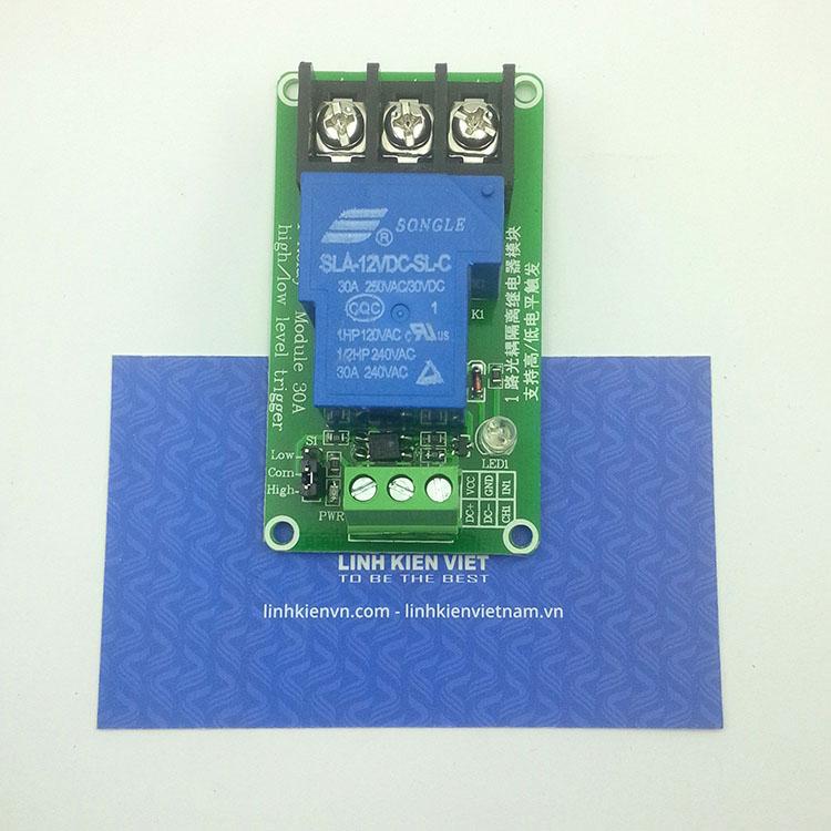 Module relay 1 kênh 12VDC - 30A - K4H4