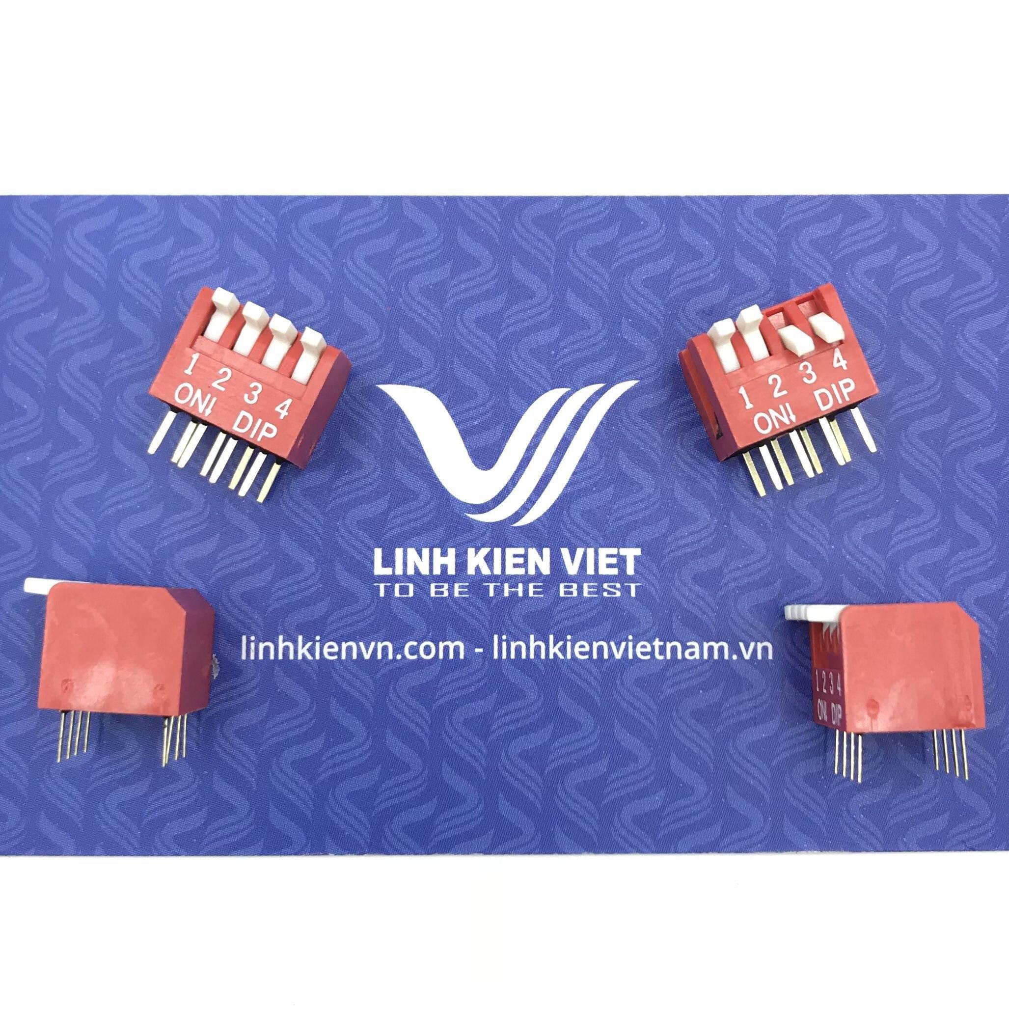 Công tắc bit đứng 4 chân DP-04 2.54mm  - S4H11