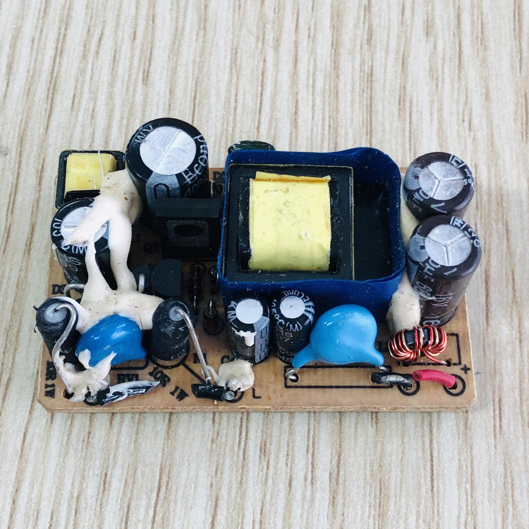 Nguồn adapter 12V 1A 12V1A không vỏ (hàng tháo máy)