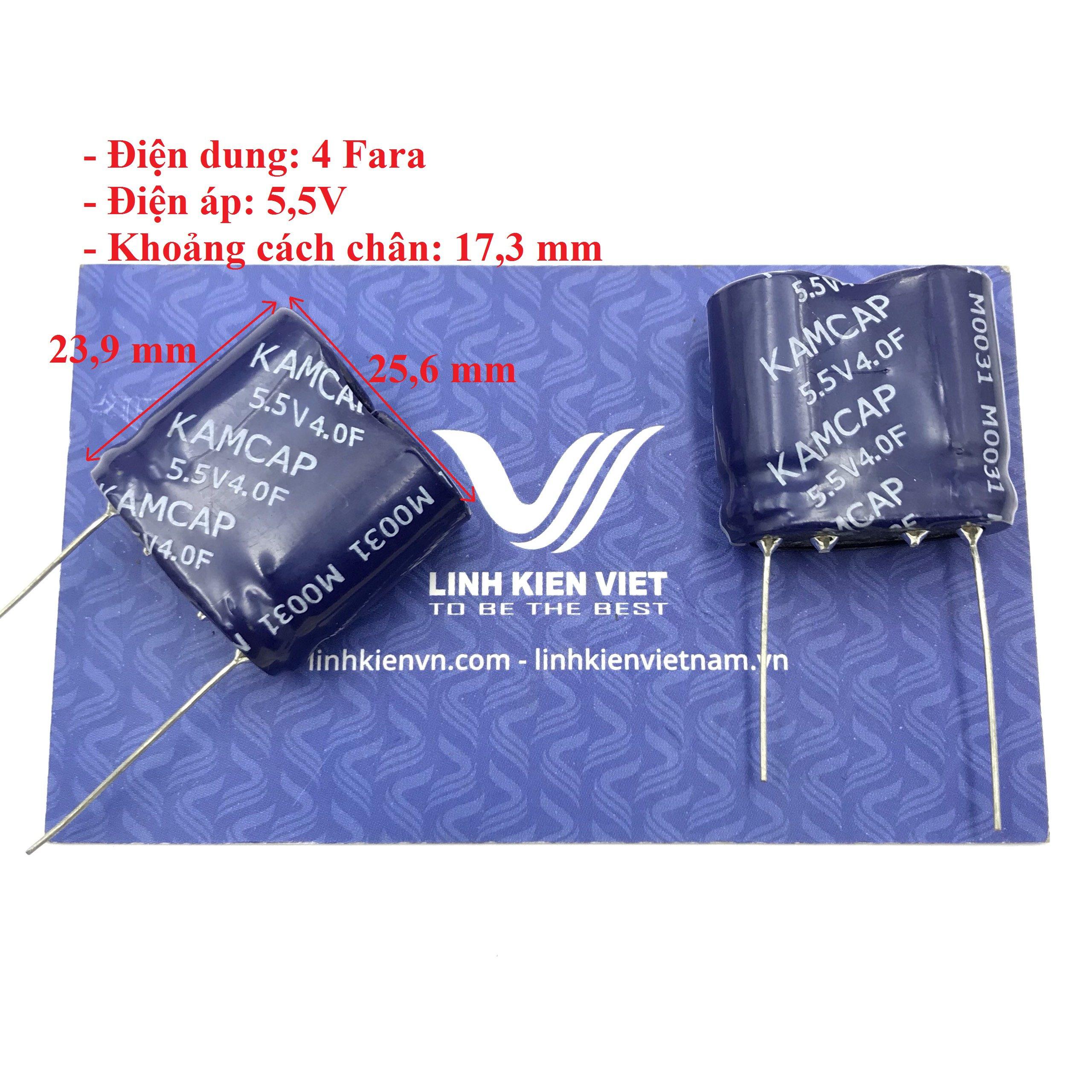 Siêu tụ điện 4F 5.5V - X4H7