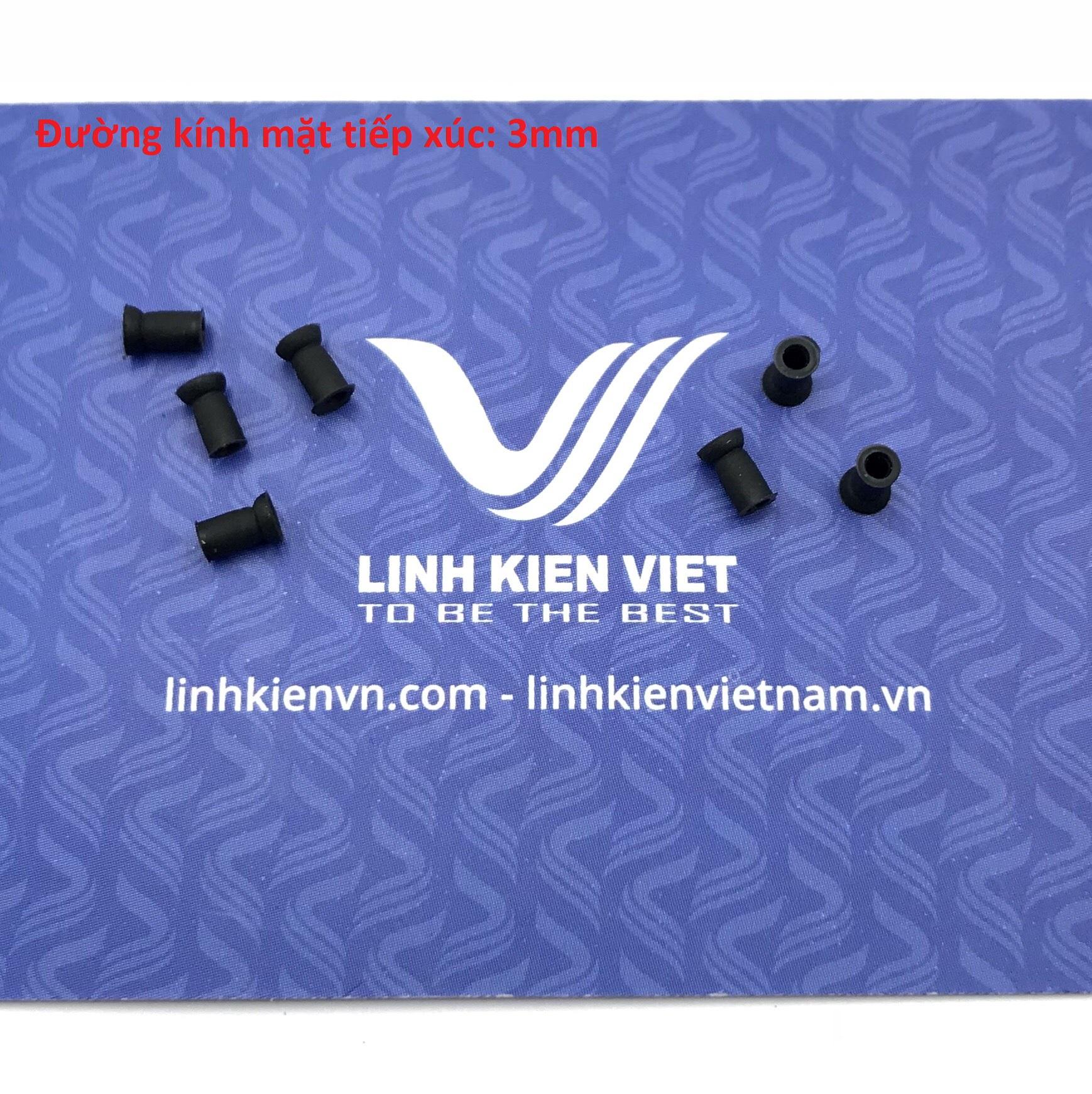 Giác hút chân không 3mm / đầu cao su cho máy hút chân không 3mm - K4H25