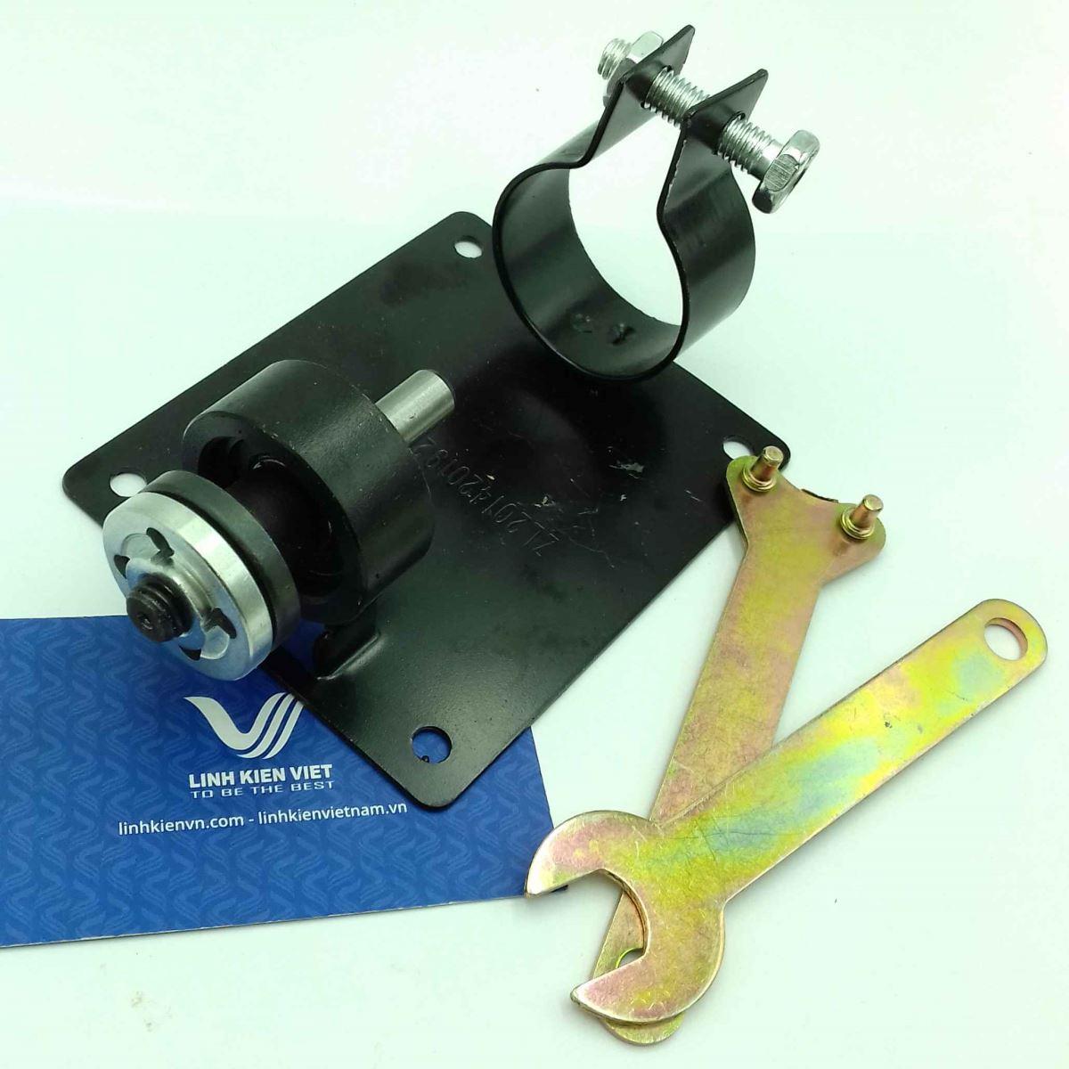Trục giữ đĩa cắt lắp khoan tay / Trục giữ đĩa cắt cho động cơ cho khoan tay - (kho i)