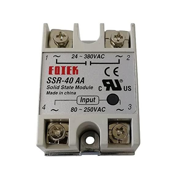 Relay bán dẫn SSR-40AA SSR40AA 40A - K1H5(KB4H3)