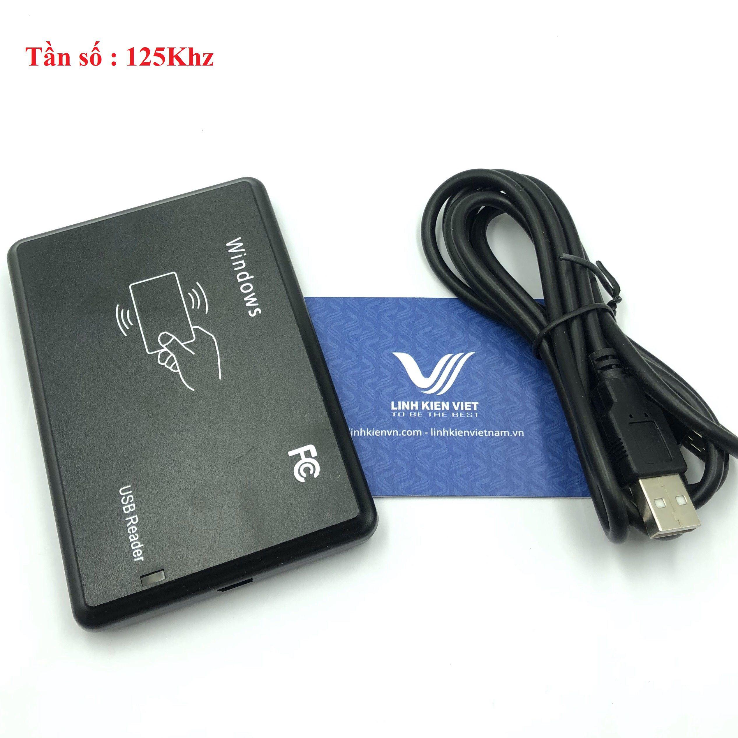 Bộ ghi đọc mã thẻ RFID 125Khz R20D-USB-8H10D /