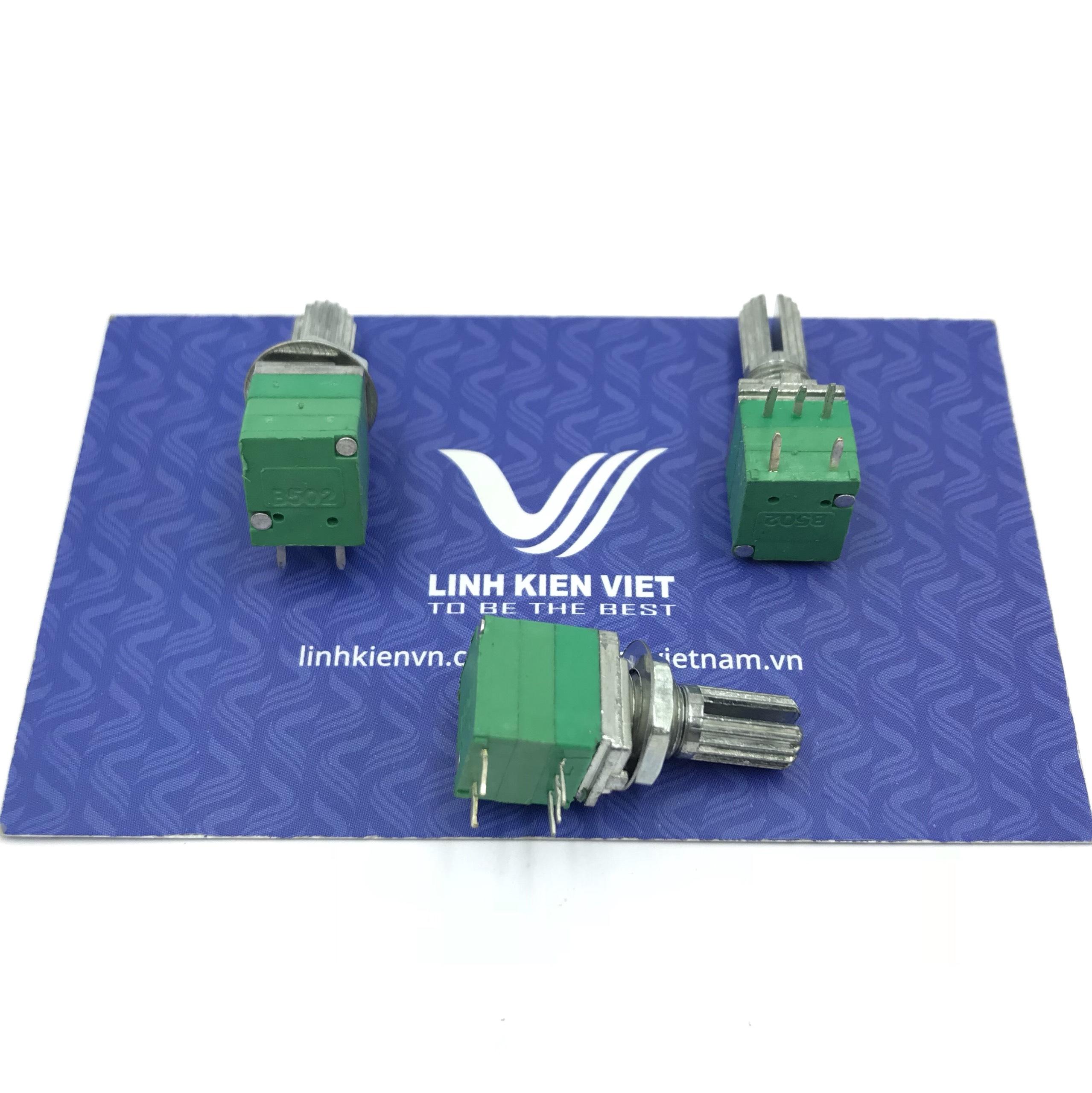 Chiết áp công tắc đơn 5K RV097NS - X2H8