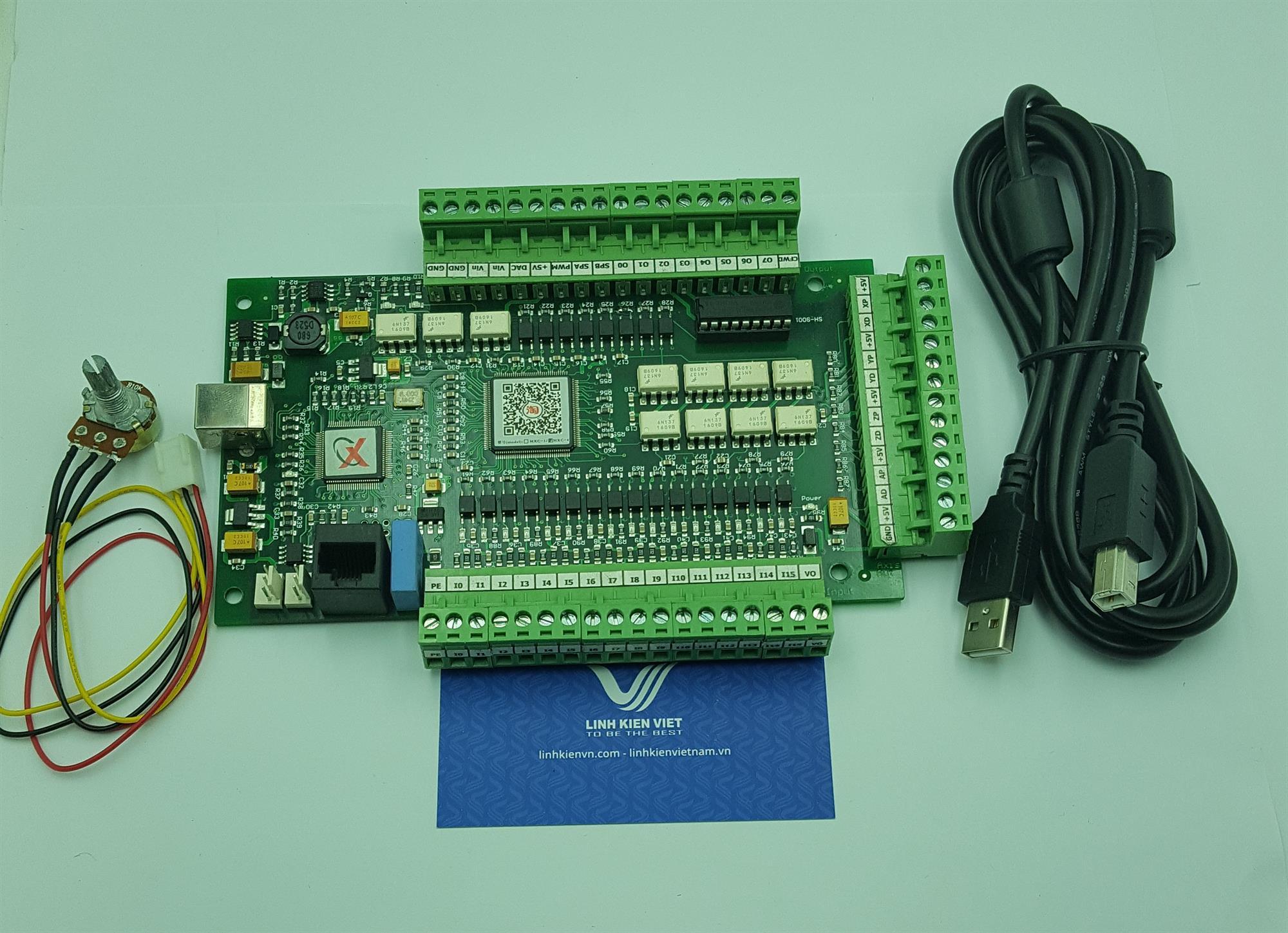 Bộ điều khiển CNC Mach3 USB 4 trục