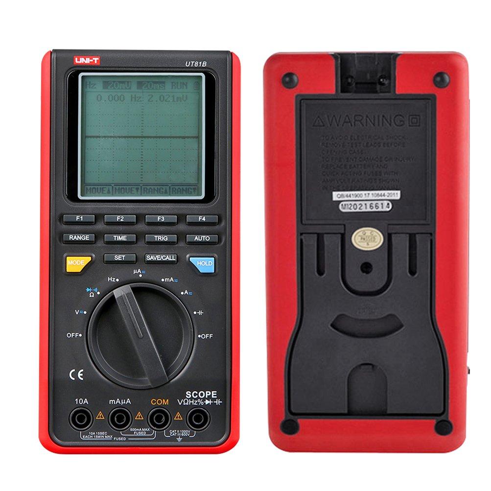 Đồng hồ vạn năng / Máy hiện sóng cầm tay UT81B chính hãng Uni-T