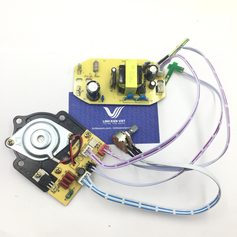 Module phun sương full/ Mạch phun sương 38V có nguồn / Mạch phung sương cho quạt - G6H20 + G1H20 + G2H17