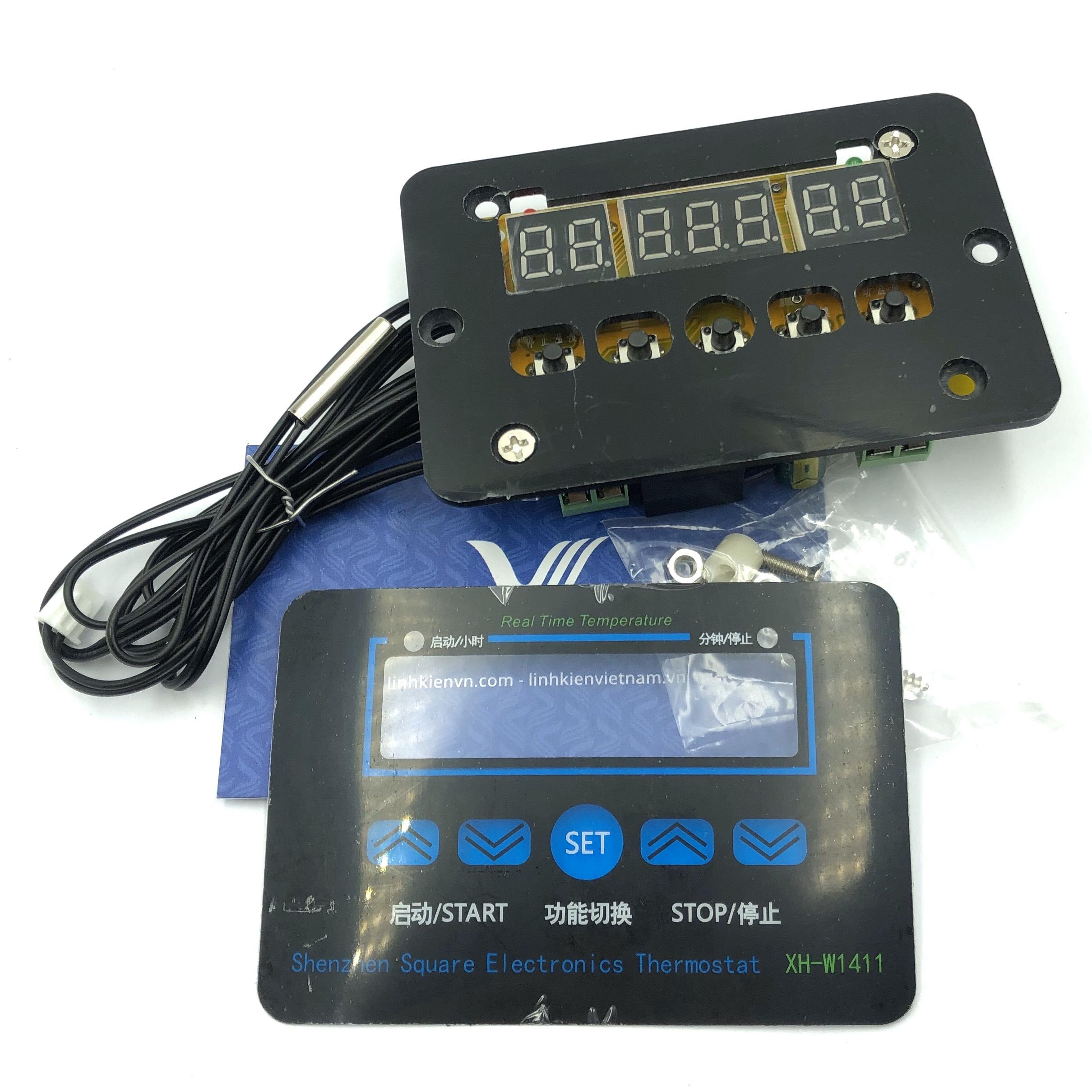 Mạch cảm biến nhiệt độ đóng ngắt thiết bị XH-W1411 220VAC