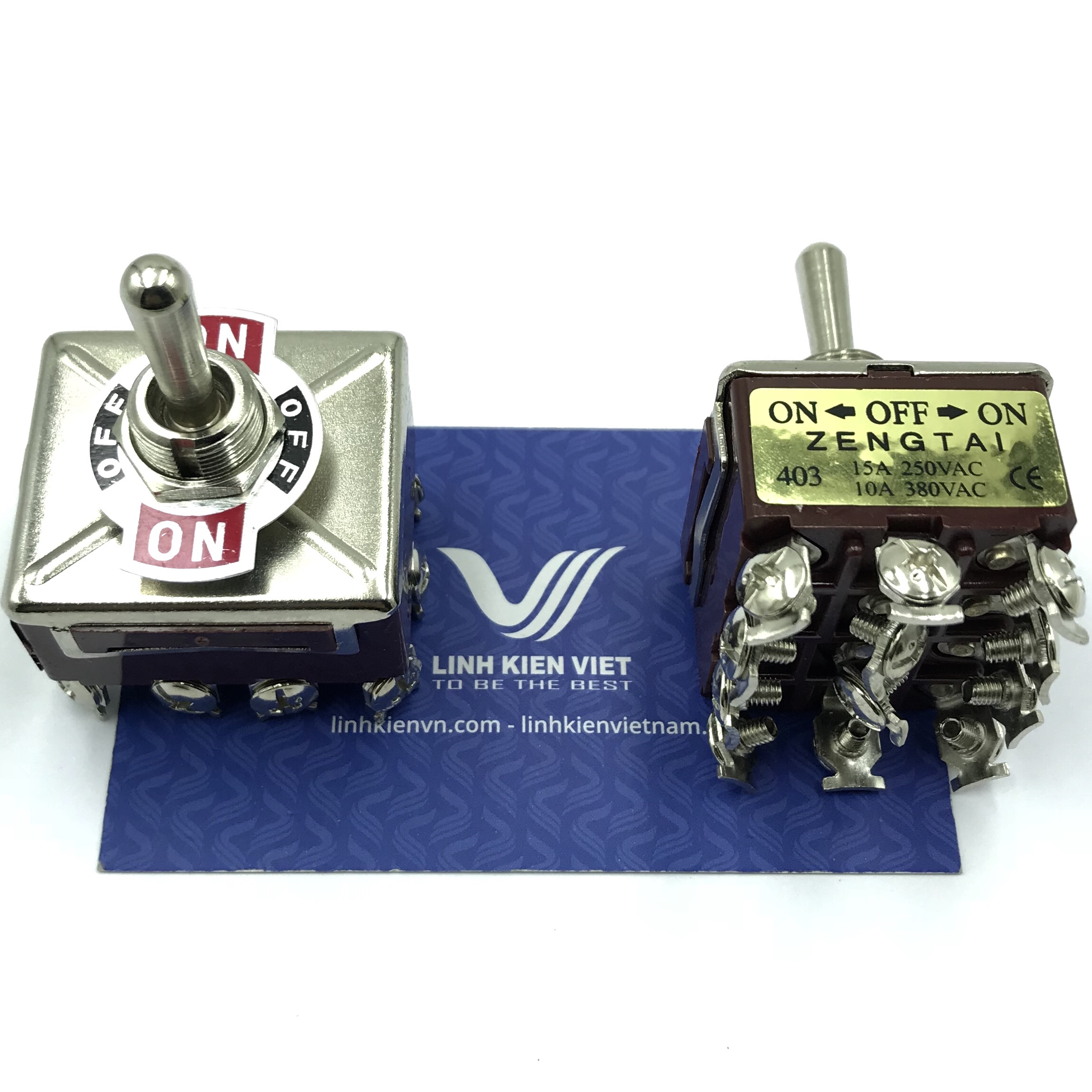 Công tắc ZENGTAI E-TEN403 15A 250V - 3 trạng thái 4 cặp tiếp điểm - S5H16