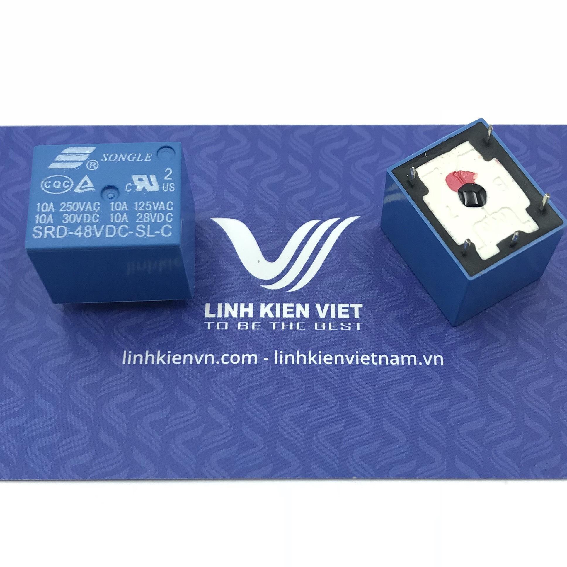 Relay 48V 10A 250V | SRD-48VDC-SL-C / K1H23