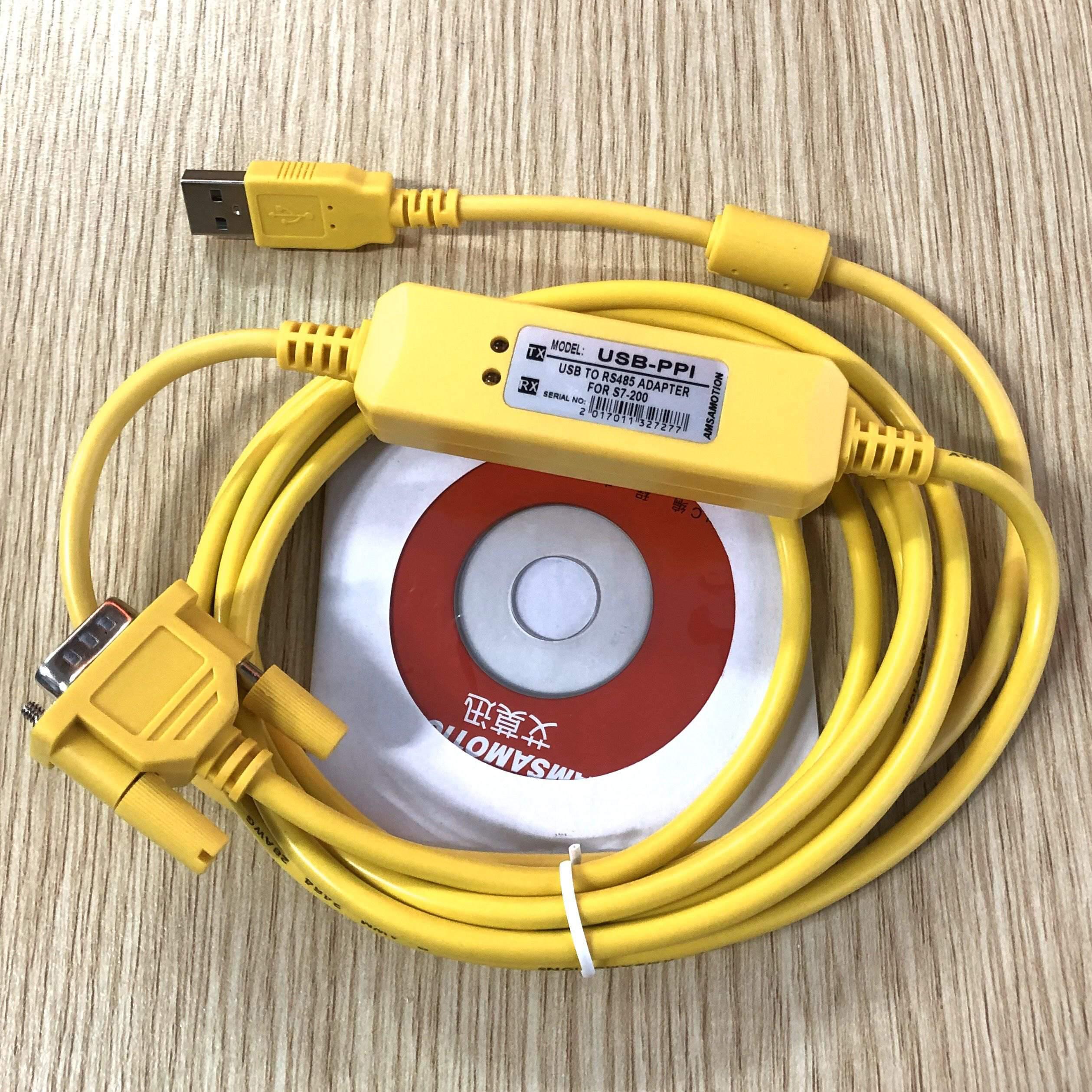 Cáp lập trình PLC Siemens USB-PPI / USB PPI / USB to RS485 Siemens S7-200 / MẠCH NẠP PLC S7-200 - KHO B