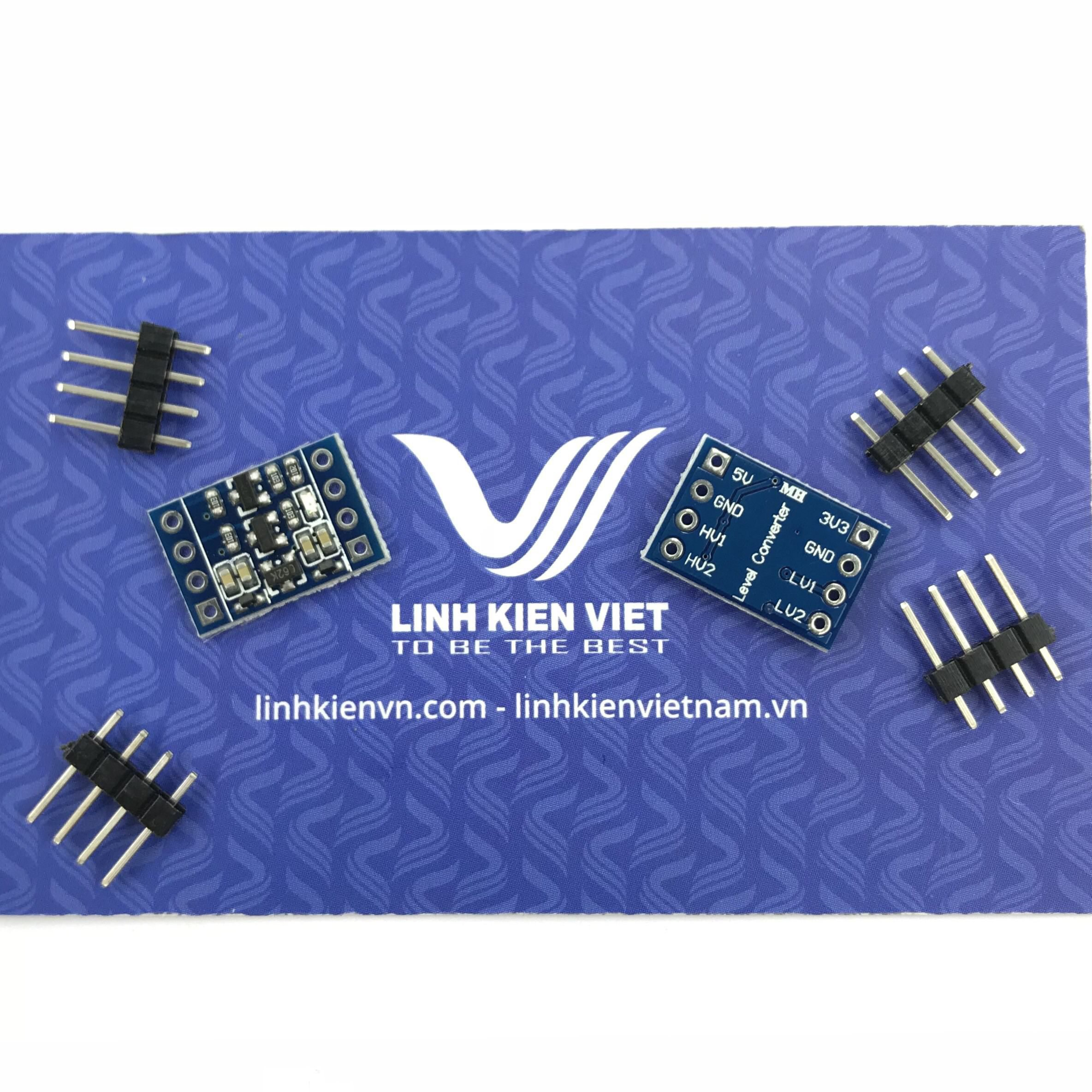 Module Chuyển Đổi Logic 2 chiều 3.3V - 5.0V 2 Kênh - X1H1