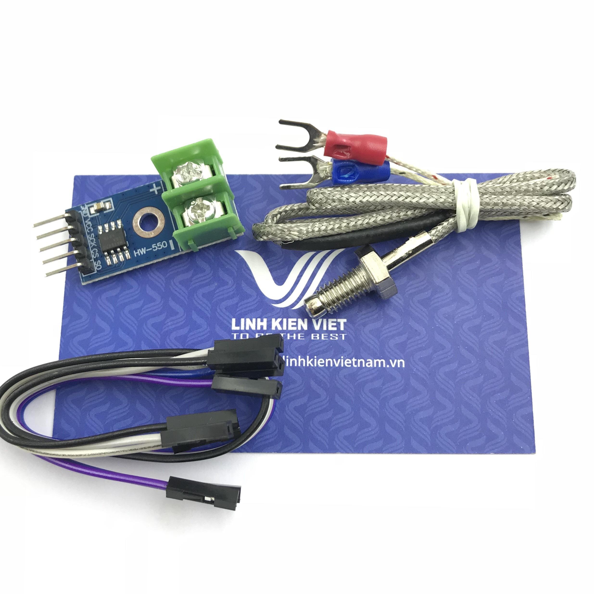Module cảm biến nhiệt độ K MAX6675 - K3H23