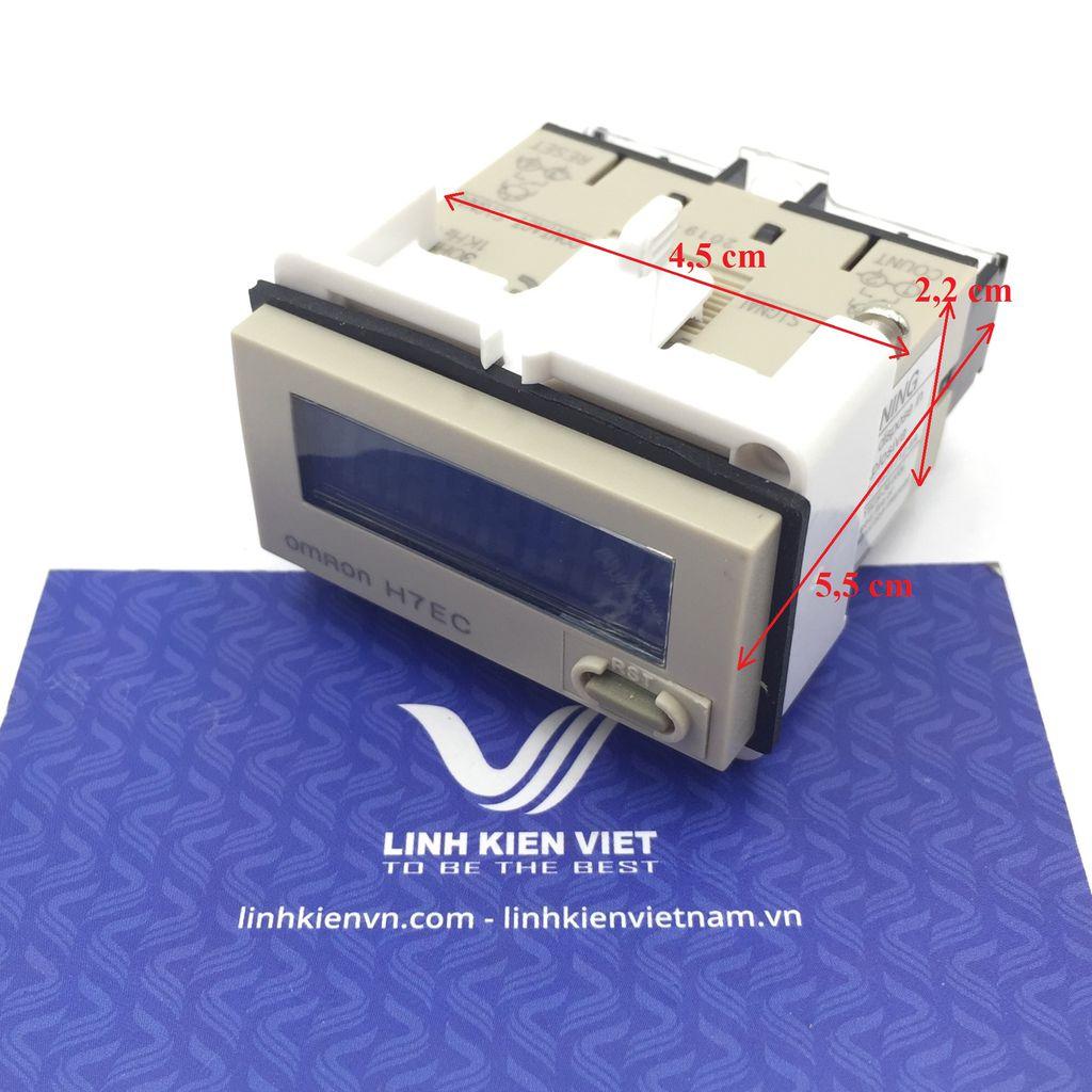 Bộ đếm counter 8 số H7EC-N có pin nuôi - I3H2