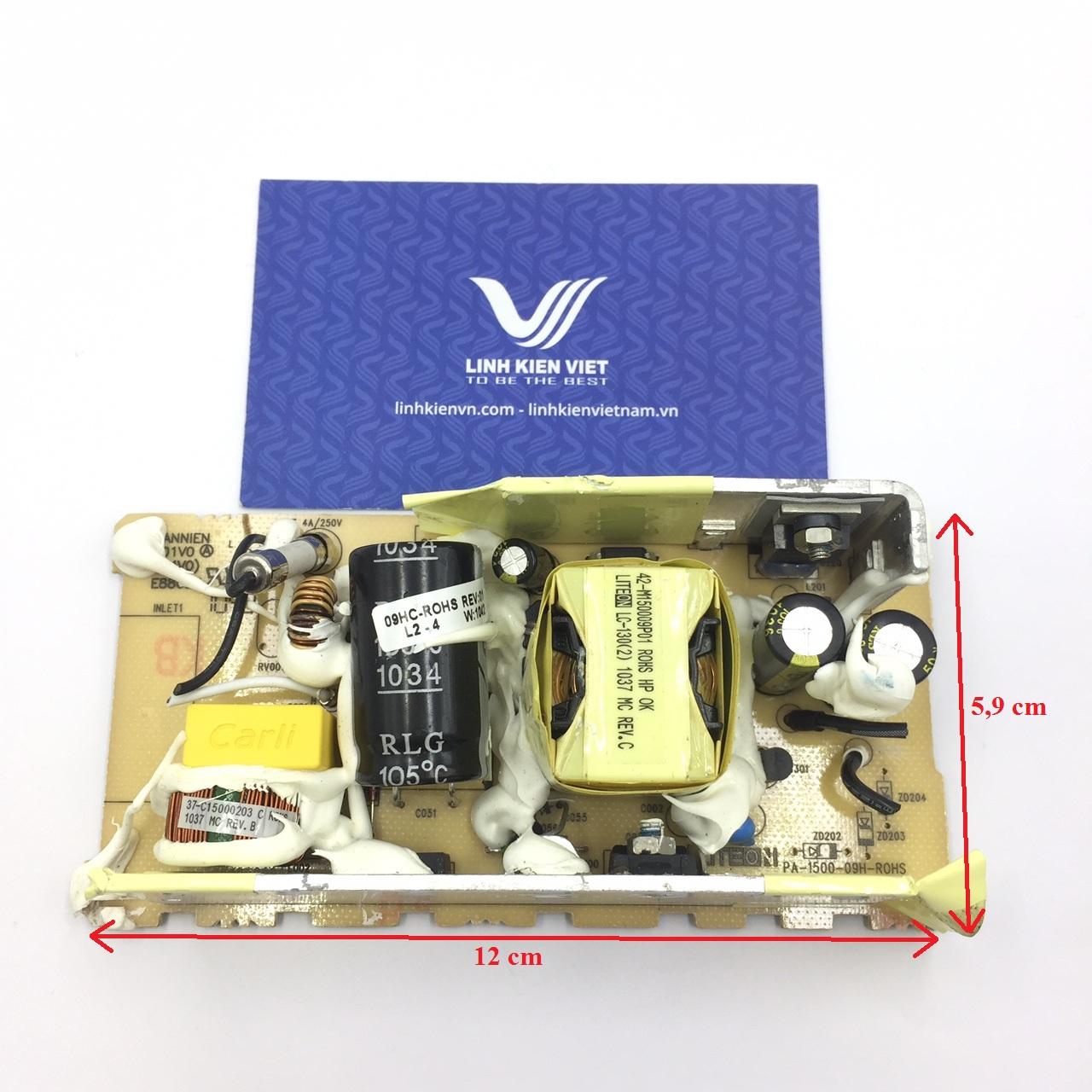 Nguồn adapter 24V 4A không vỏ - (hàng tháo máy)