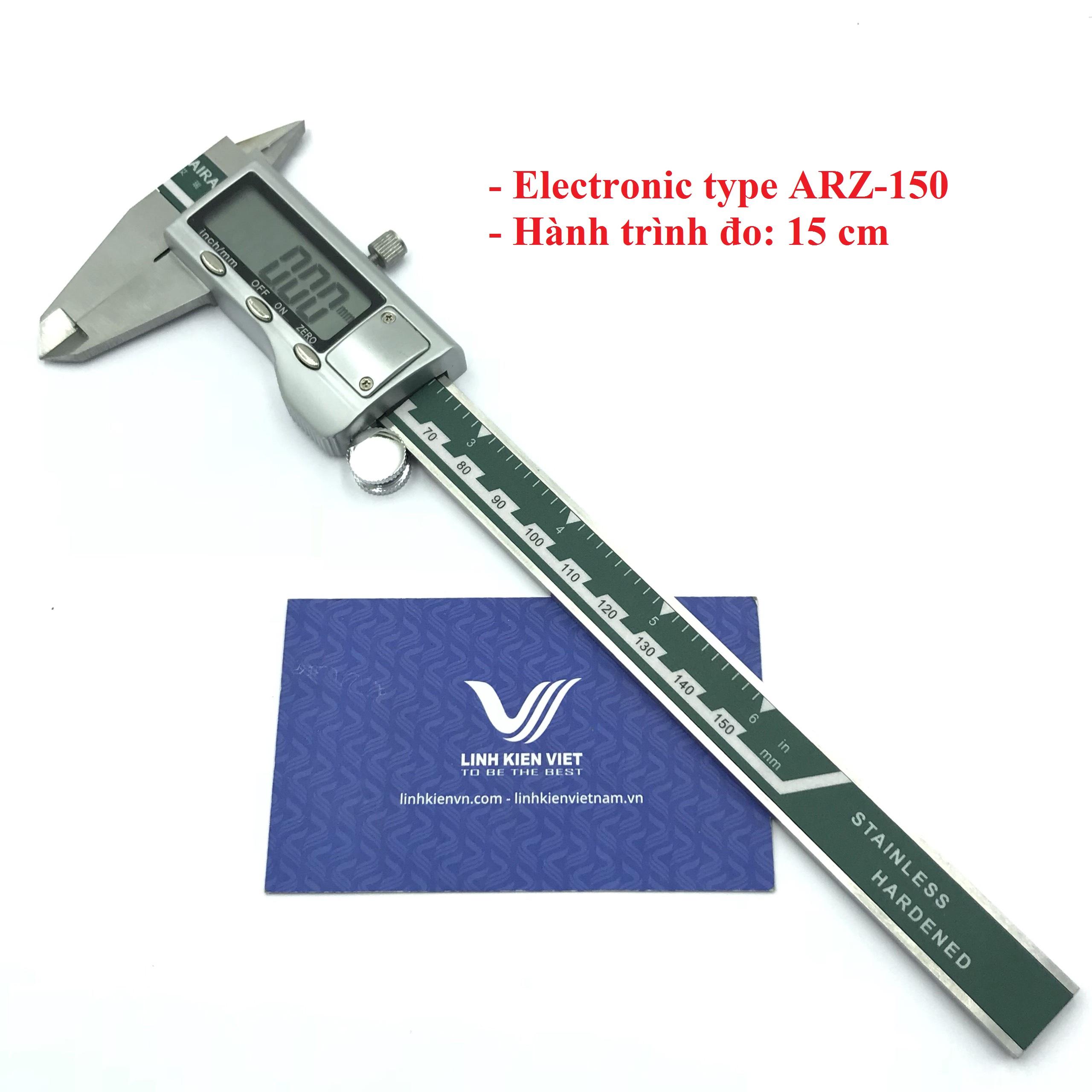 Thước kẹp điện tử số ARZ-150 15cm electronic type / Thước cặp