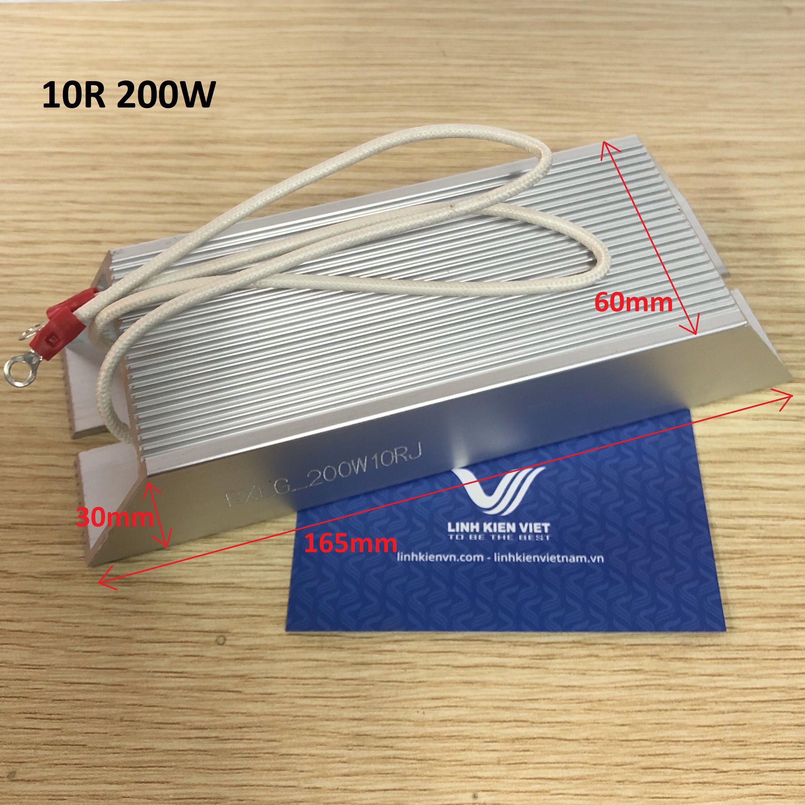 Điện Trở Xả Vỏ Nhôm 200W 10R RXLG200-10R