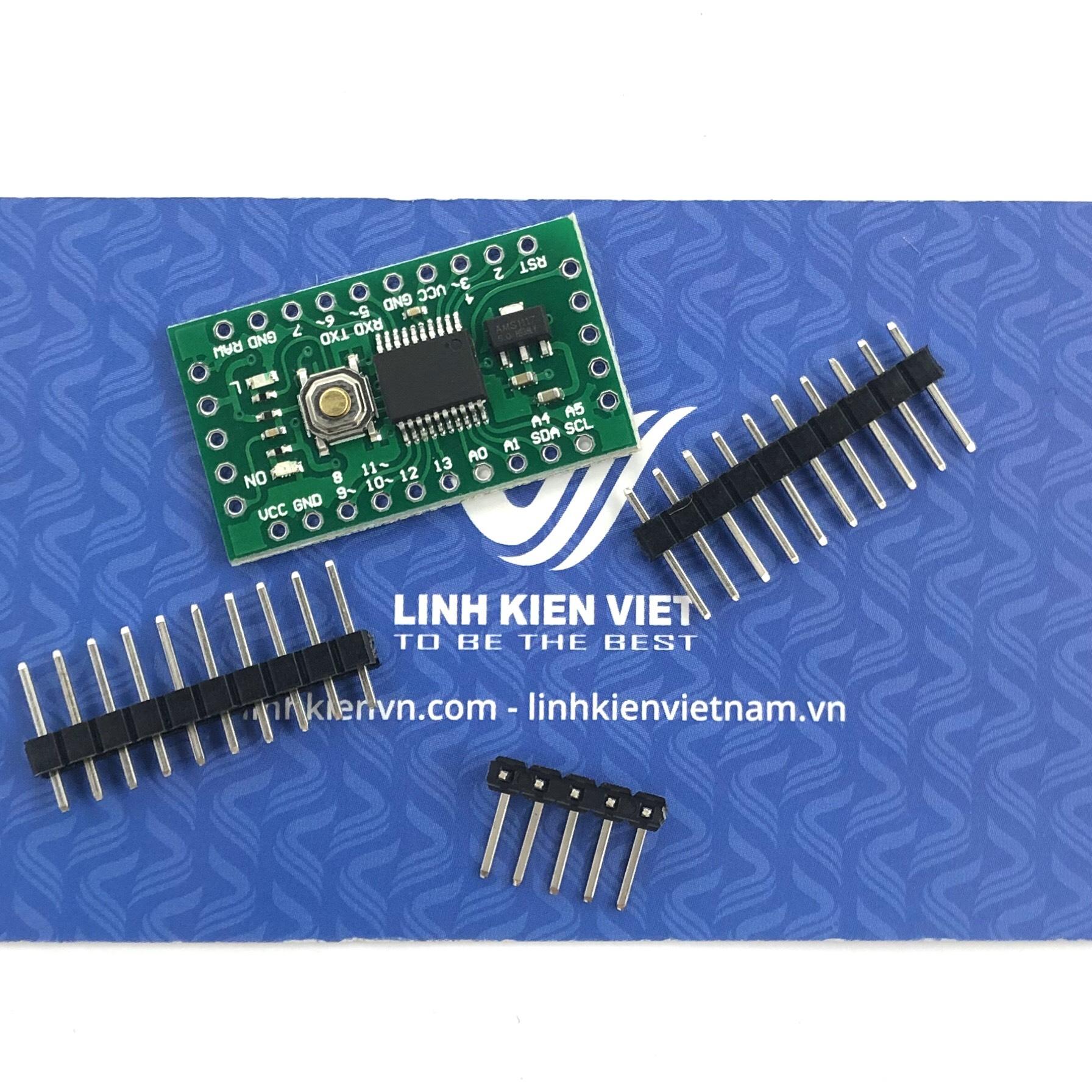 Arduino Promini LGT8F328P SSOP20 - X1H24