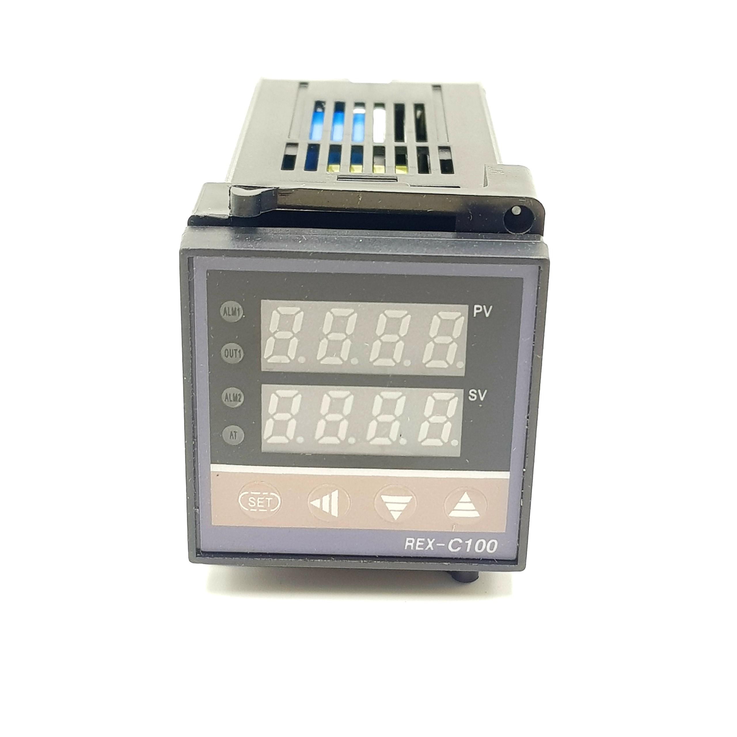 Bộ điều khiển nhiệt độ RKC REX C100 0-400 độ OutPut SSR / Điều khiển nhiệt độ REX C100 cho can K I7H19