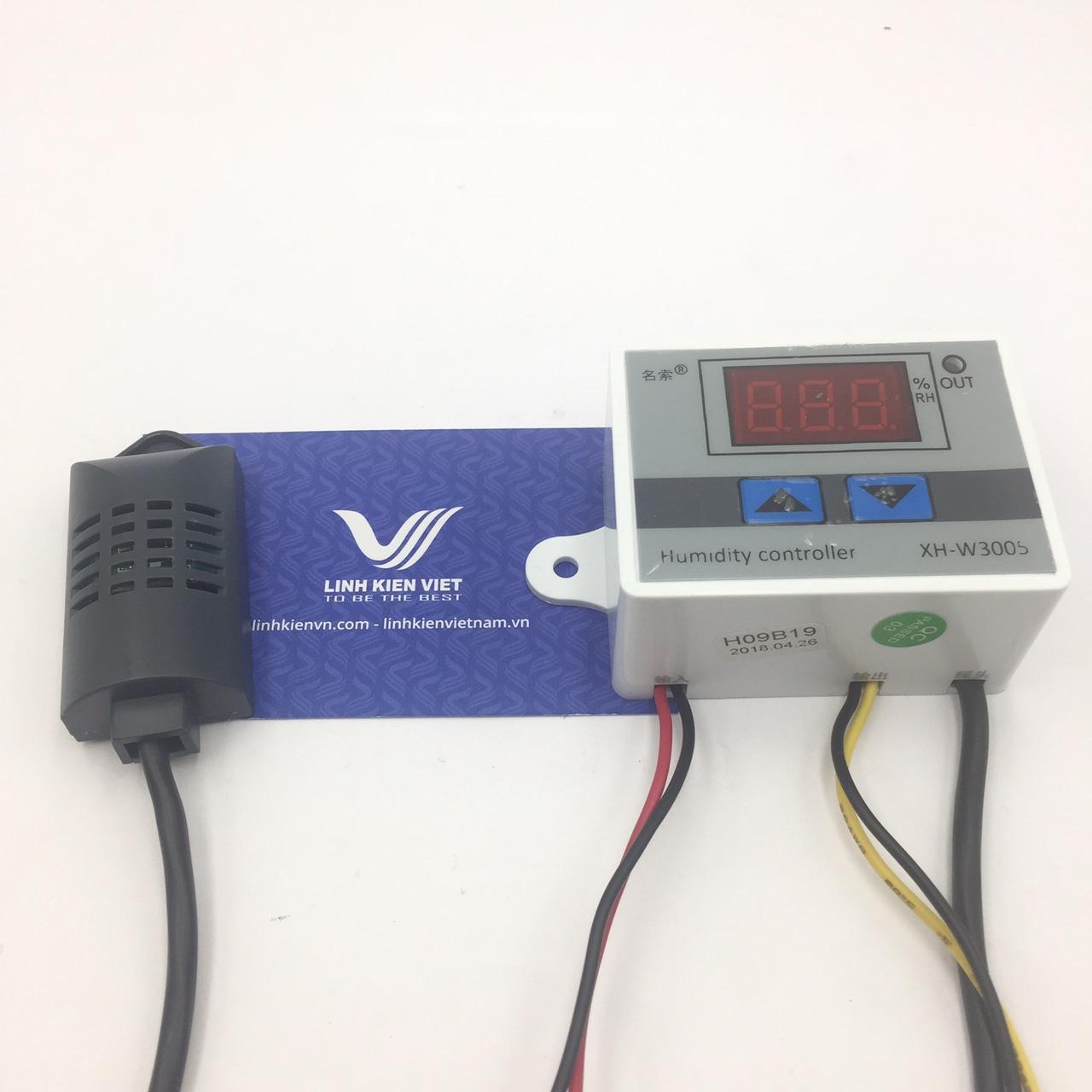 Module điều khiển Độ ẩm XH-W3005 24V có vỏ - s1H6