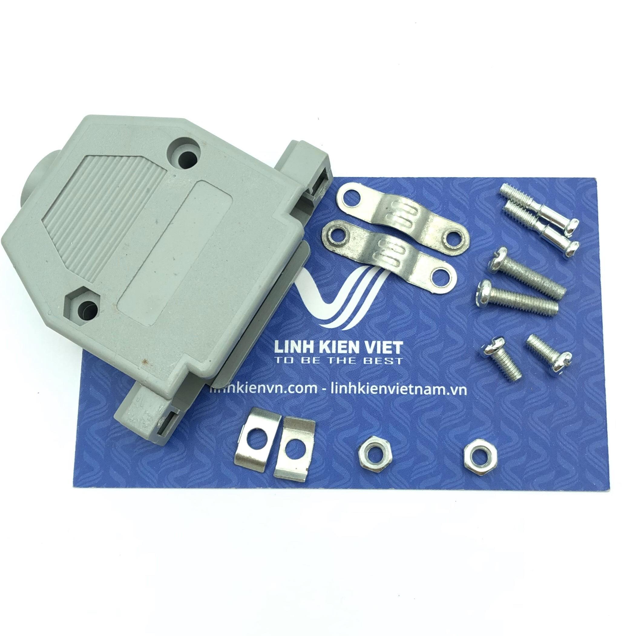 Vỏ DB25 / Vỏ Cổng COM DB25 Nhựa - S3H23