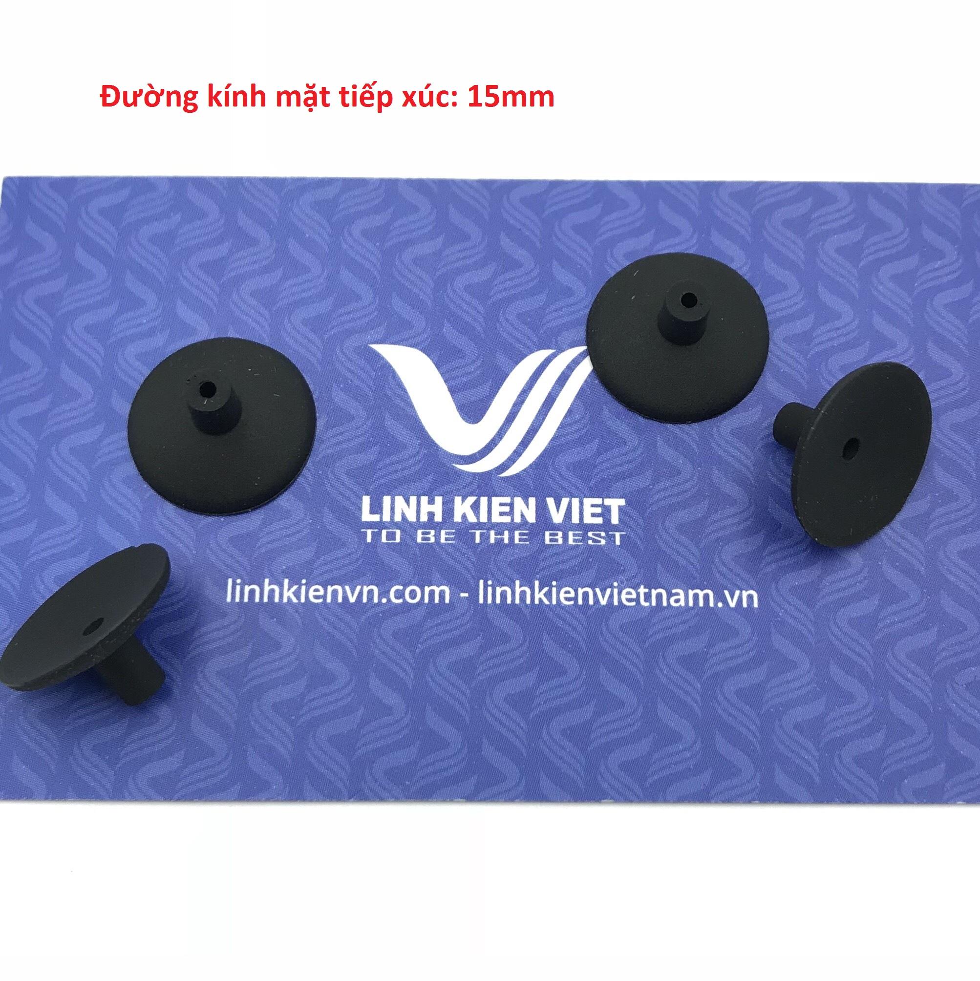 Giác hút chân không 15mm / đầu cao su cho máy hút chân không 15mm - K4H25