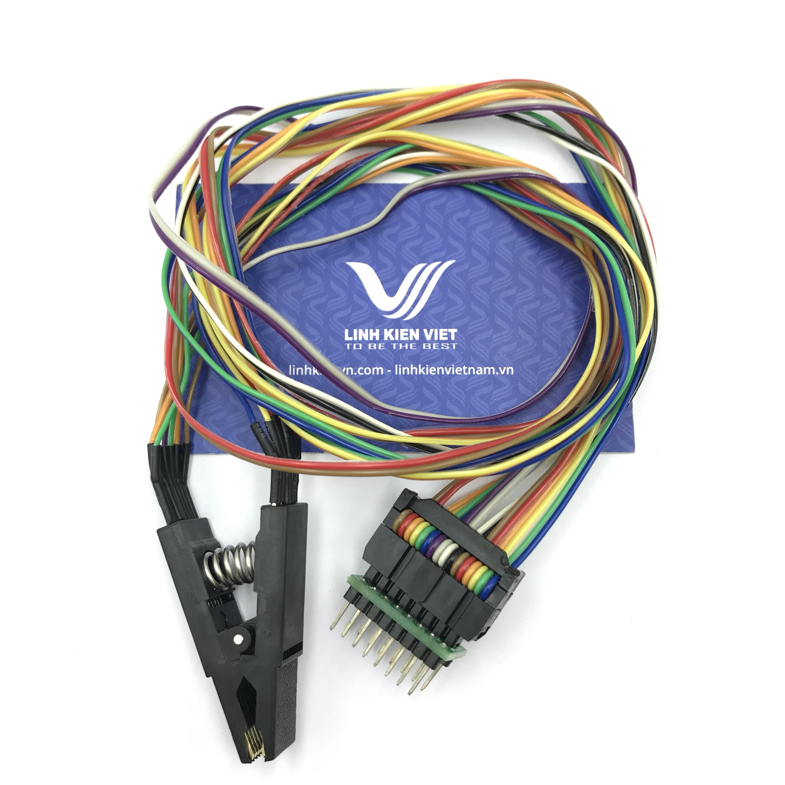 Socket nạp ic bios SOP16 có dây đế - X2H3