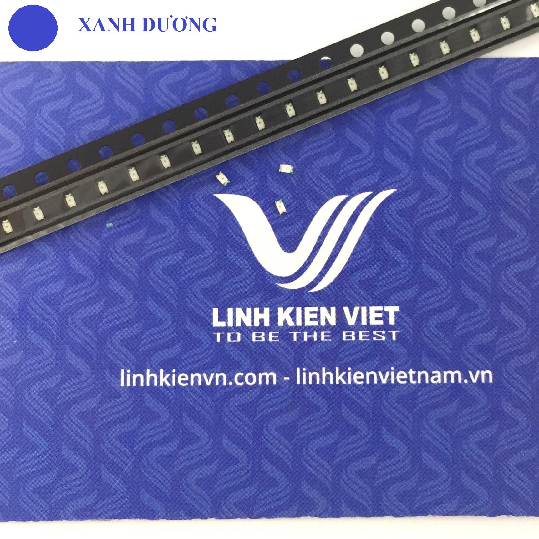Led SMD 0603 màu xanh dương - 10 chiếc
