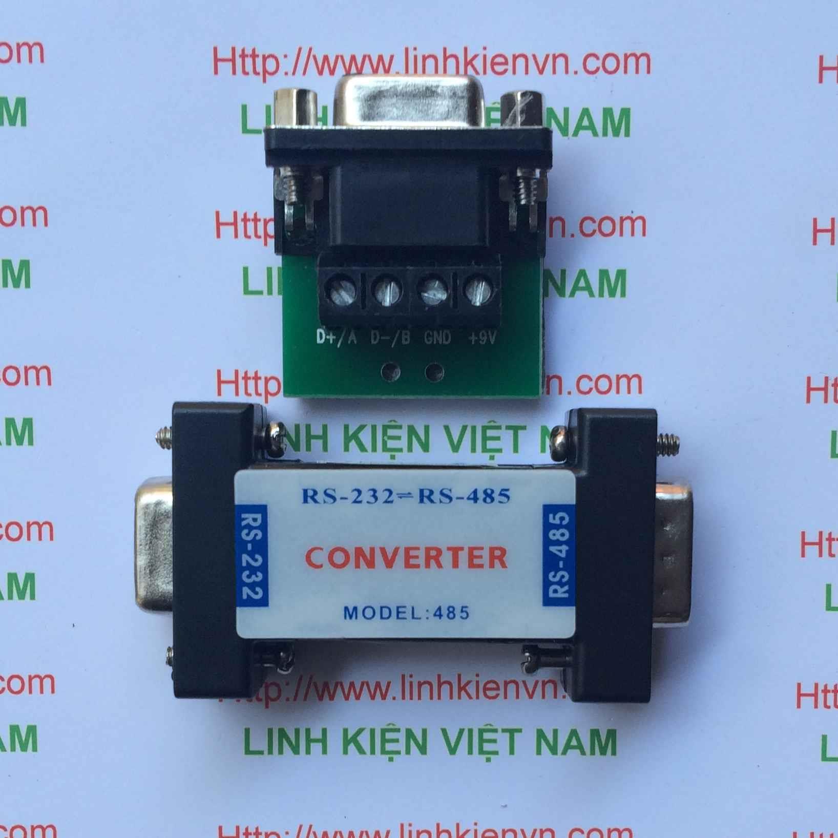 Bộ chuyển đổi Hexin RS232/485 / RS232 To RS485 converter / Module chuyển đổi 232 sang 485 - B2H18
