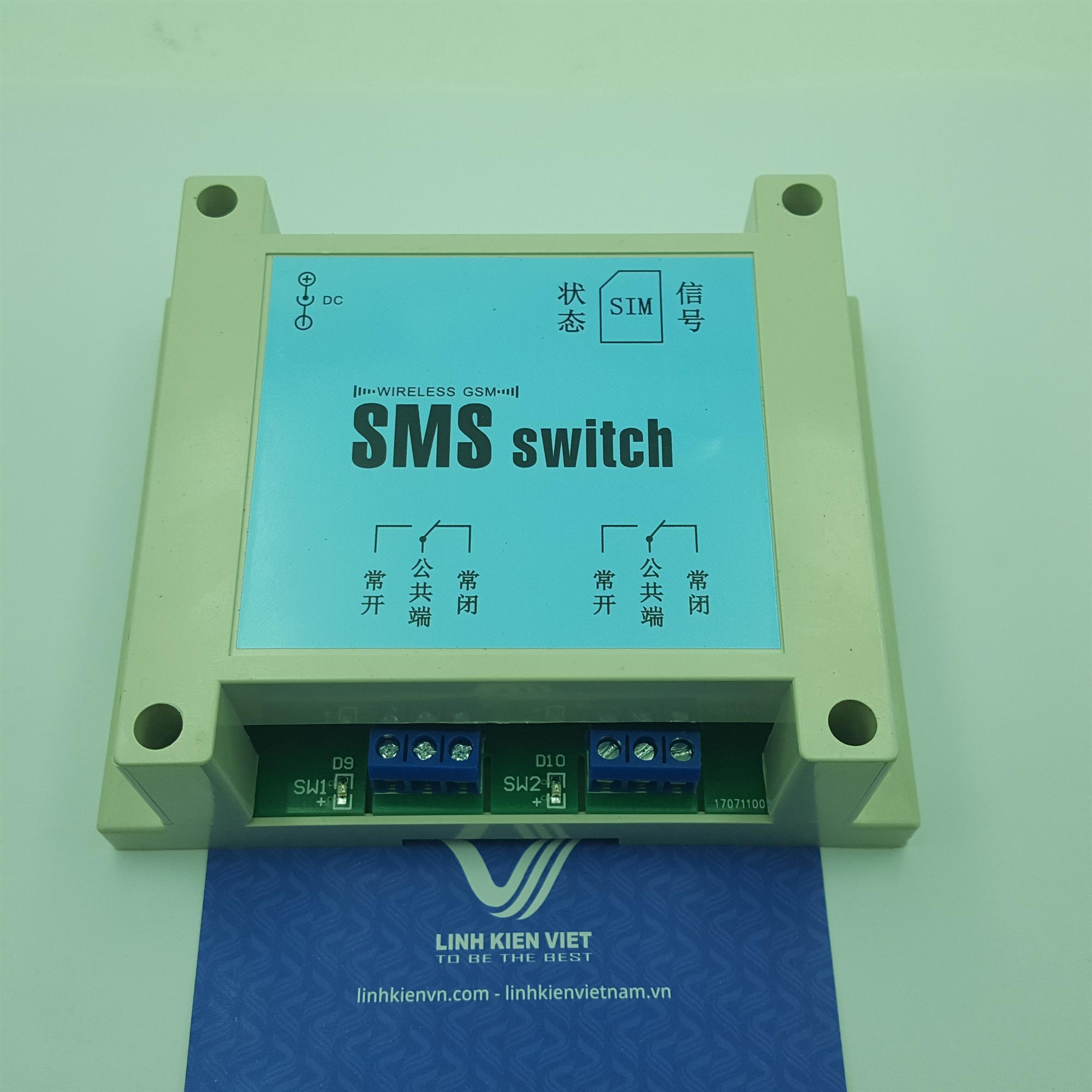 Bộ điều khiển thiết bị từ xa dùng SMS - J3H20