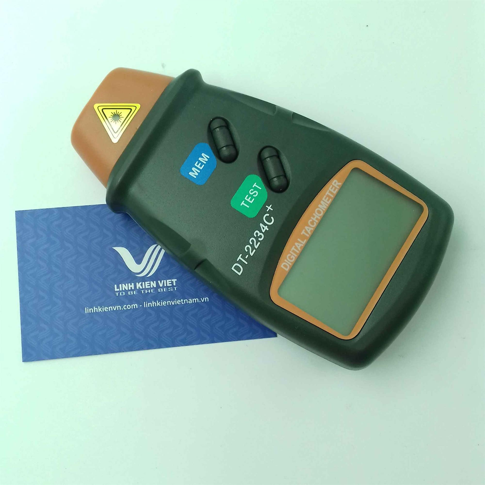 Bộ đo tốc độ động cơ quang học DT-2234C+