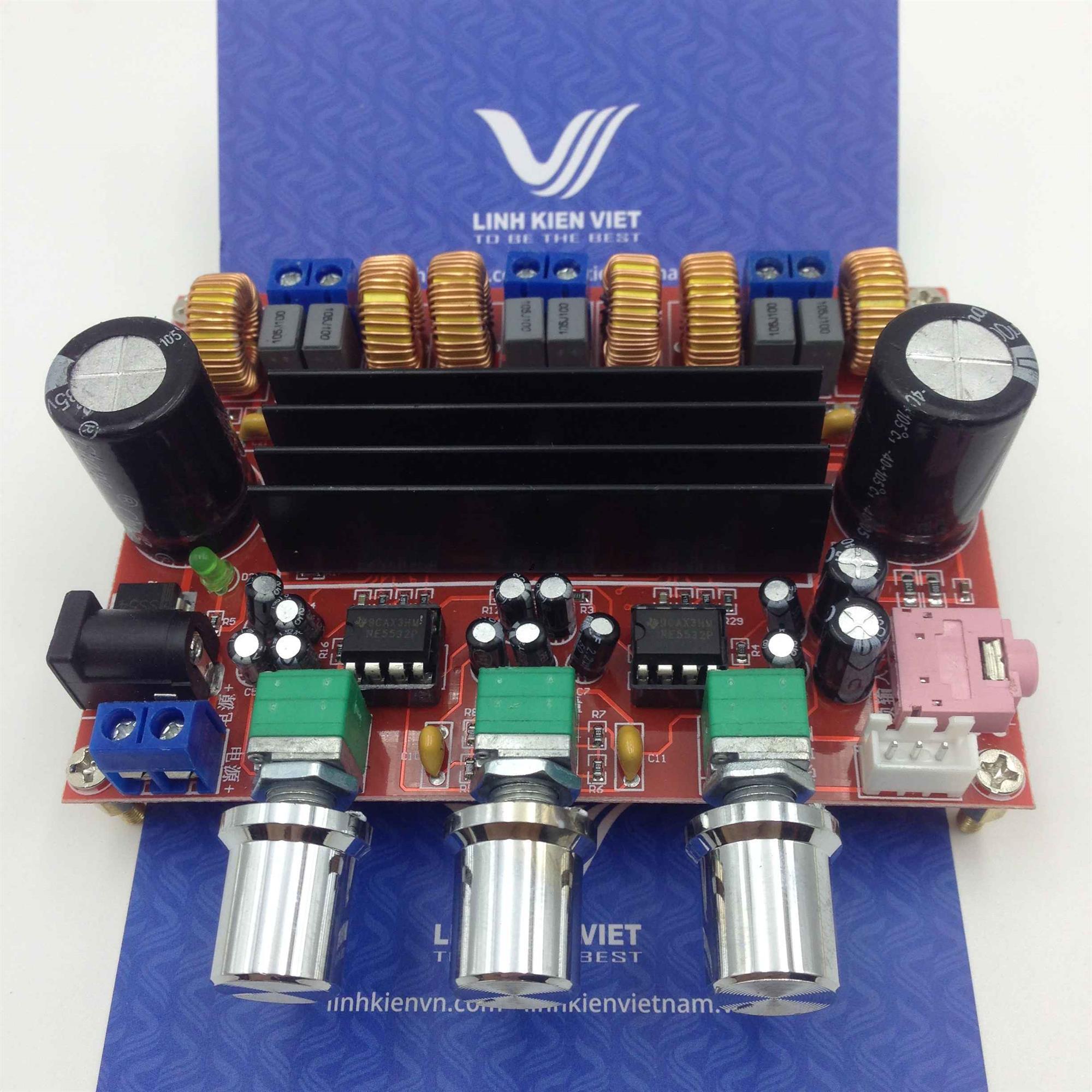Bộ khuếch đại âm ly TPA3116D2 2.1 / Mạch khuếch đại amply siêu trầm - Kho