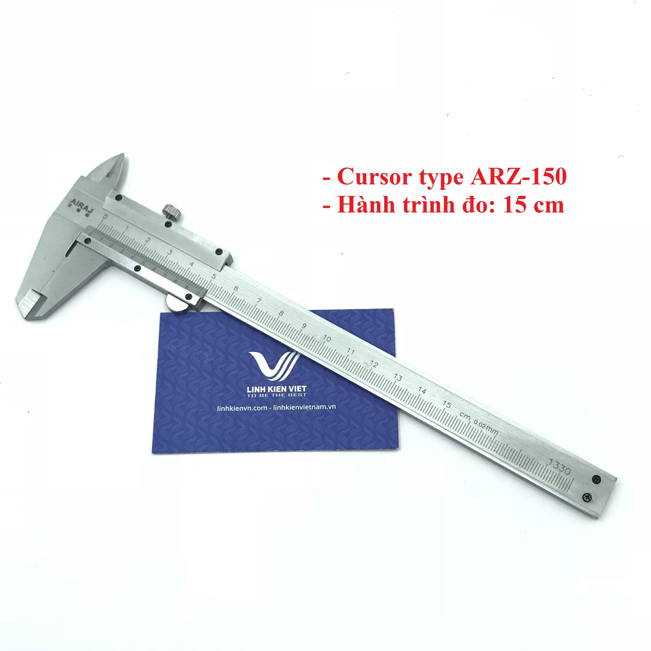 Thước Kẹp Cơ ARZ-150 15cm cursor type / Thước cặp
