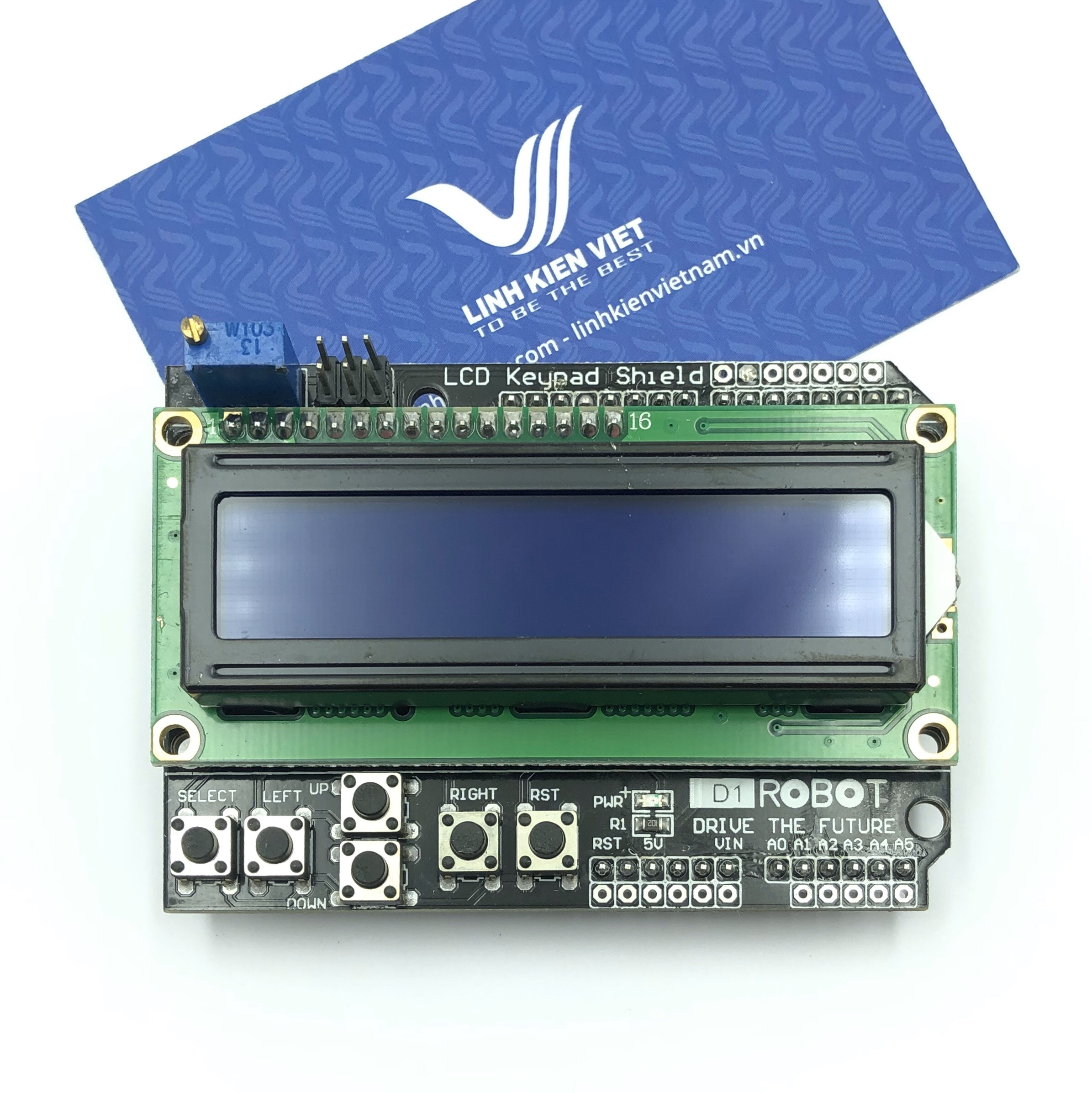 Module LCD1602 Keypad Shield - S3H21