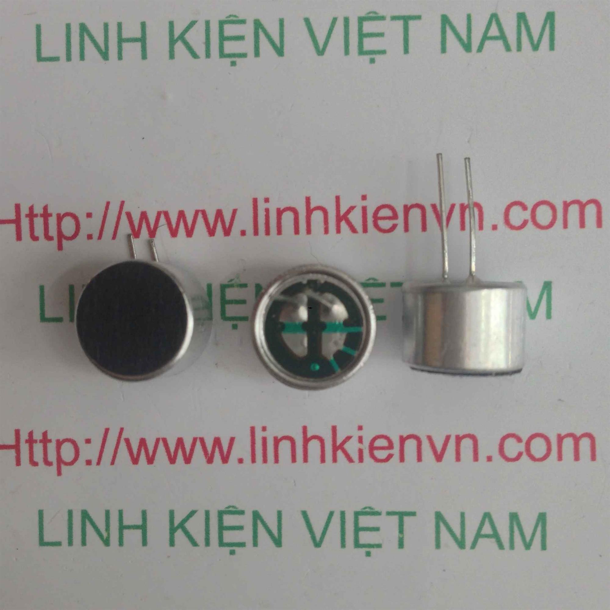 Cảm biến âm thanh 9.7*6.7mm / hạt MIC - D2H10