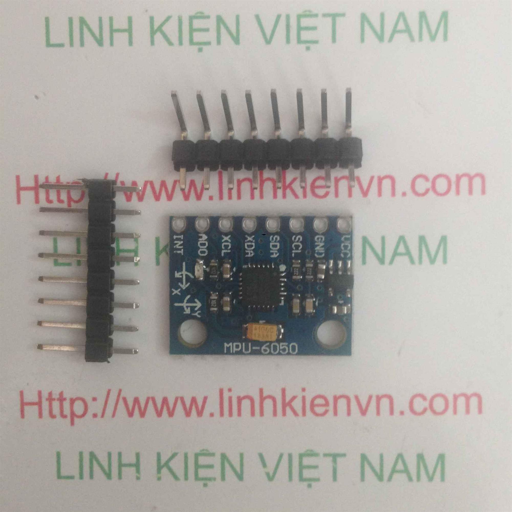 Cảm Biến Gia Tốc Góc MPU-6050 - K5H16