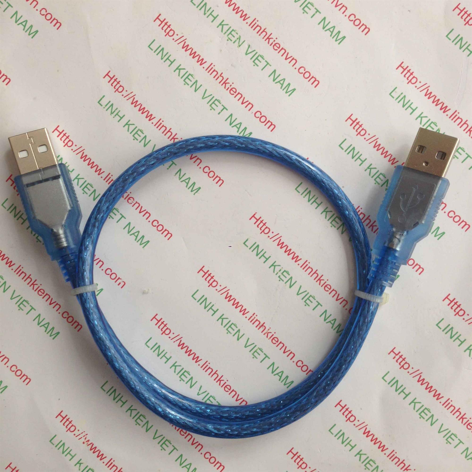 Dây cáp USB HAI ĐẦU ĐỰC - GIÁ