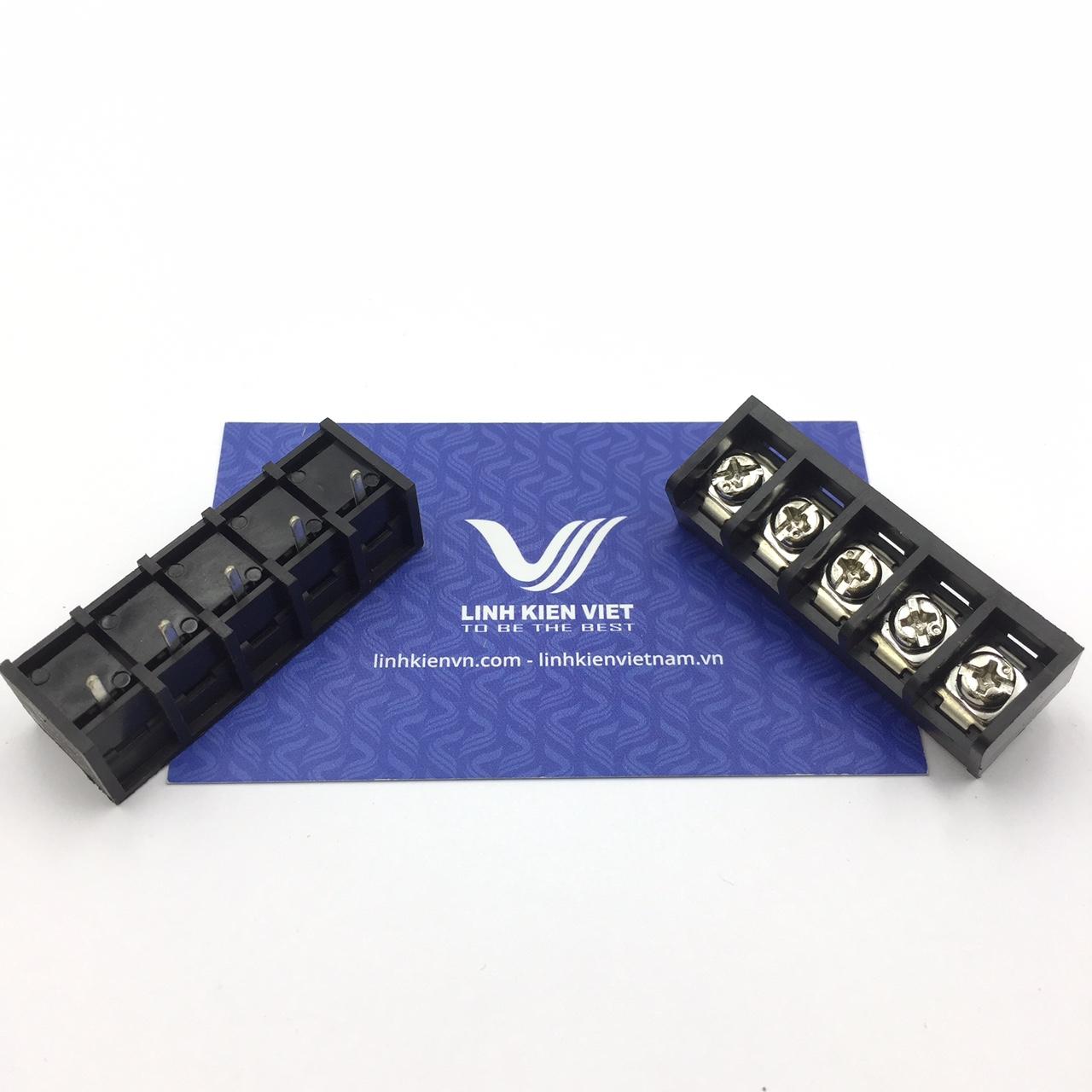 Cầu đấu terminal HB9500-5P /DC49 - 9.5mm 5P - s1H17